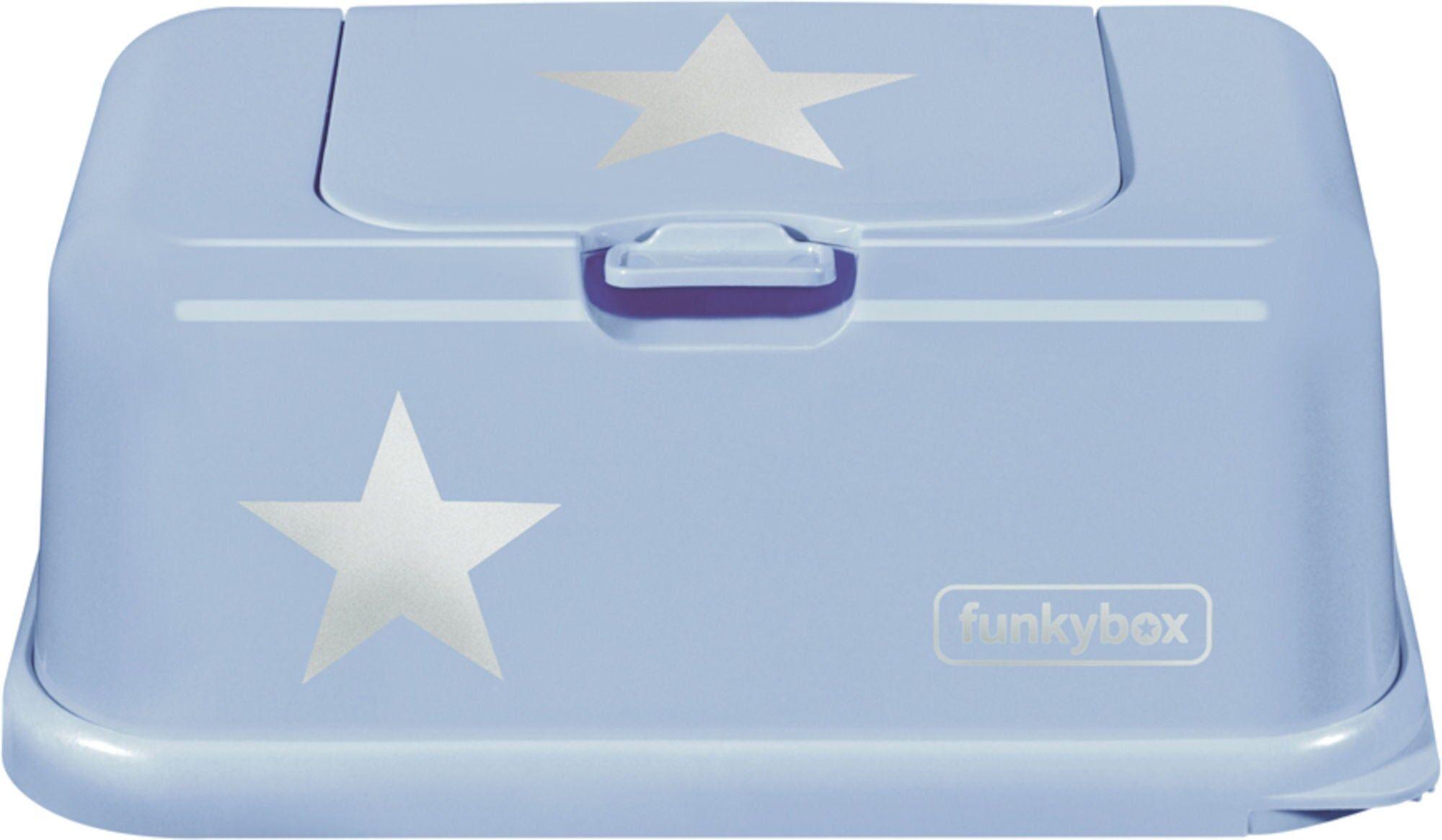 Funkybox Oppbevaringsboks Våtserviett, Blå