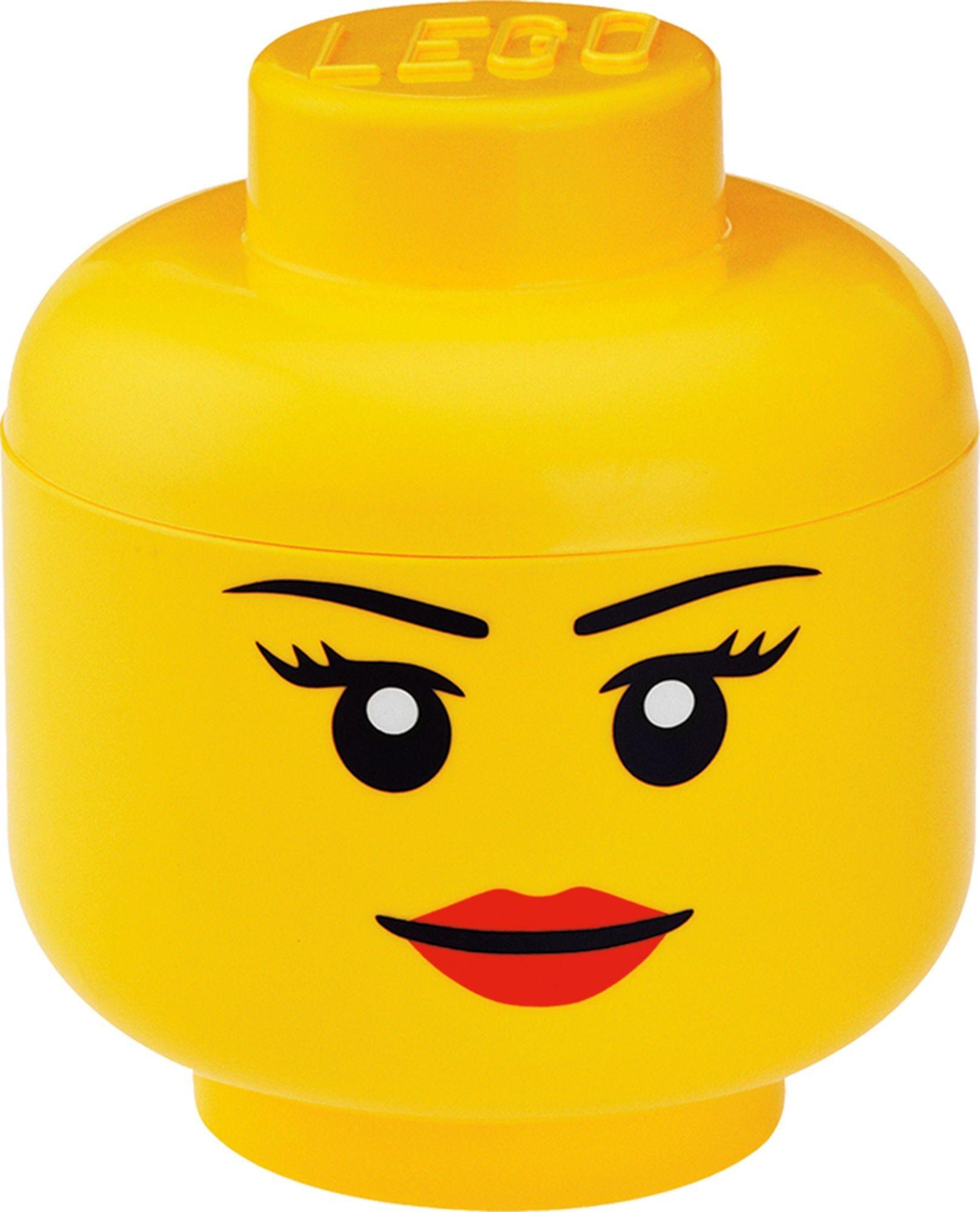 Lego Oppbevaring L Jente, Gul