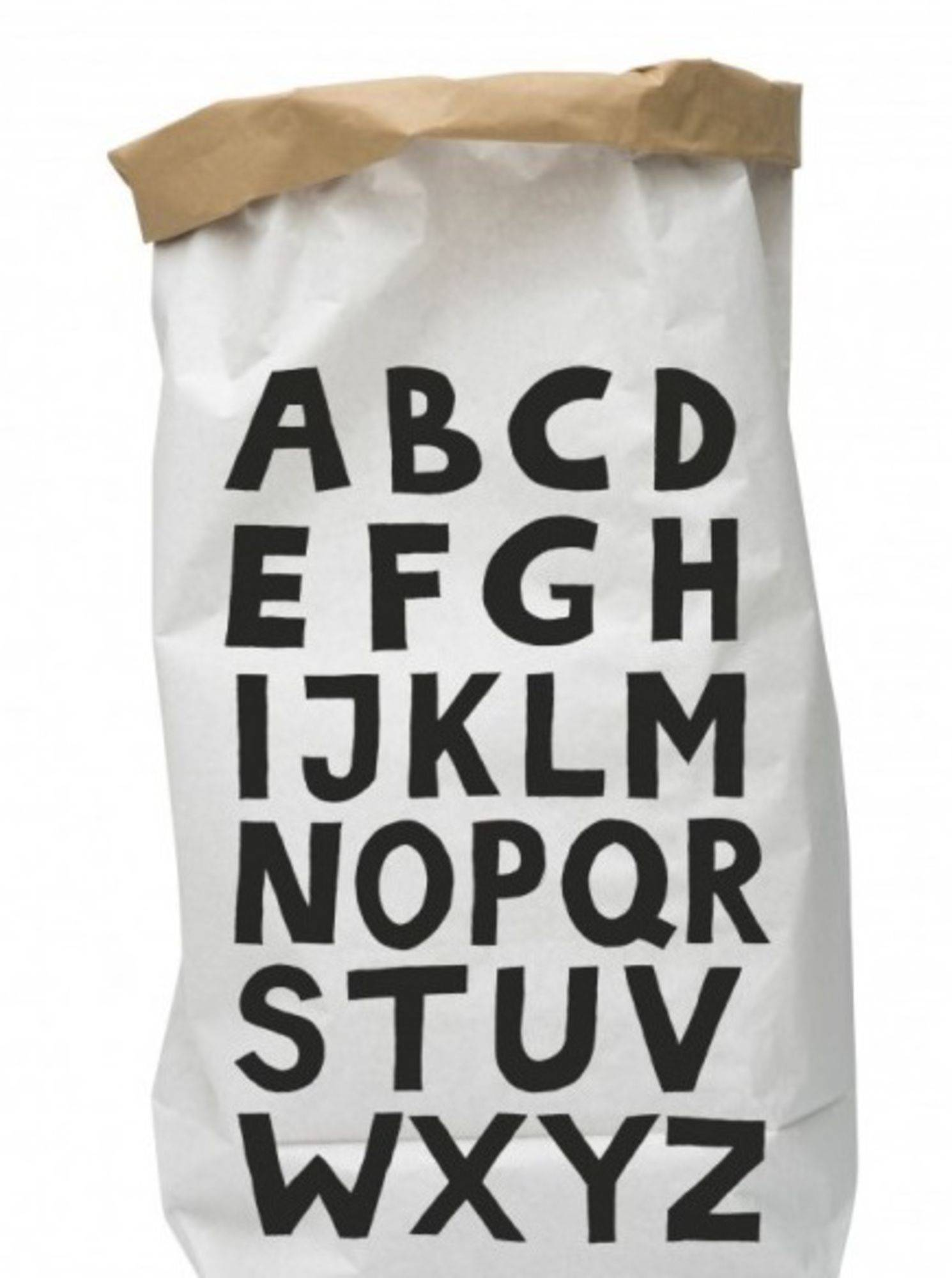 Tellkiddo Papirpose ABC