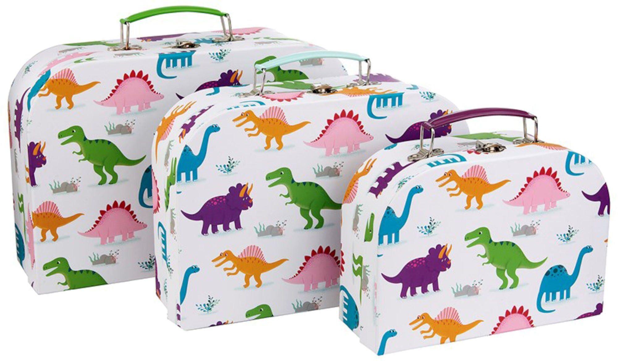 Sass & Belle Pappkoffert Roarsome Dinosaurs 3-pack