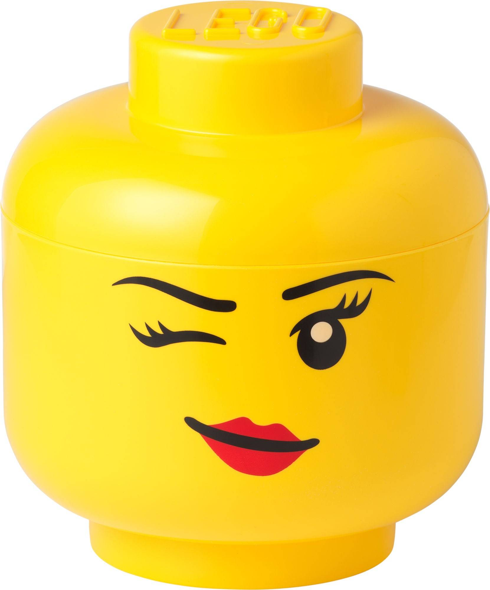 Lego Oppbevaring L Blunke, Gul
