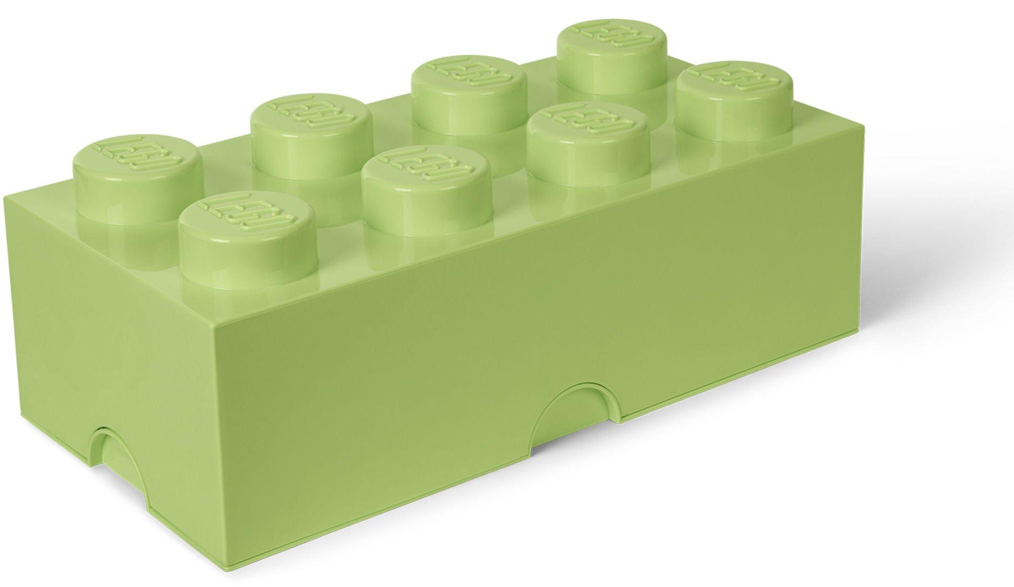 Lego Oppbevaring 8, Gulgrønn