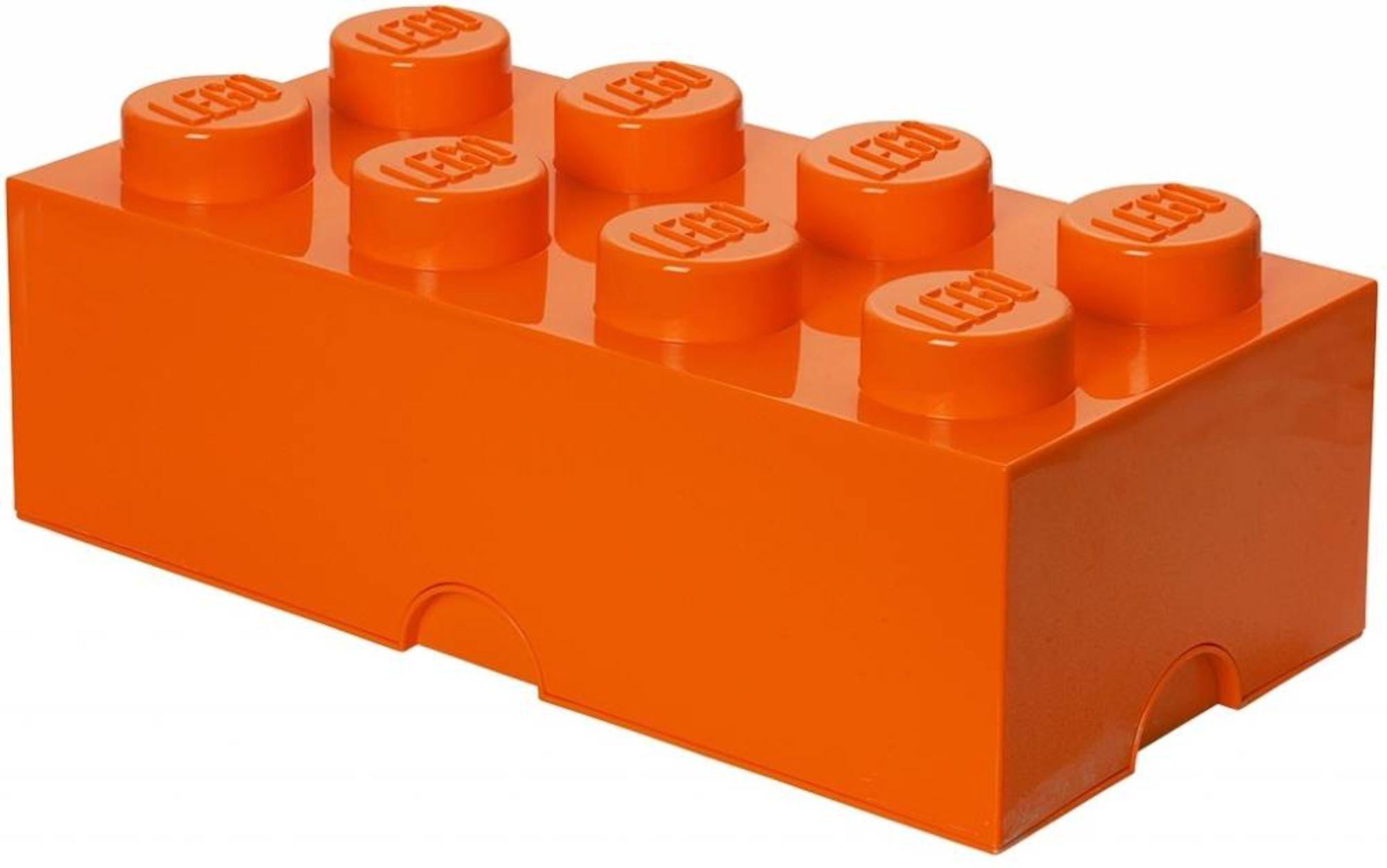 Lego Oppbevaring 8, Oransje