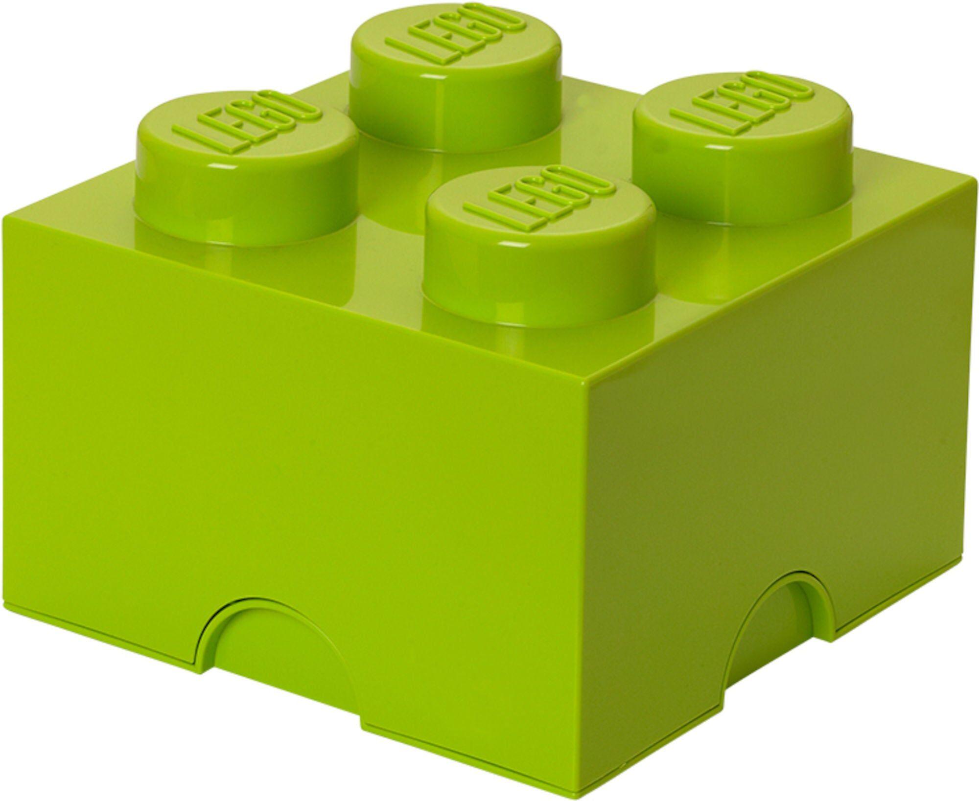 Lego oppbevaring 4 Lime