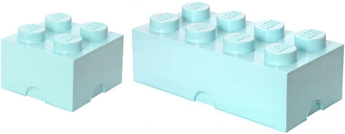 Lego Oppbevaringspakke Liten/Stor, Turkis