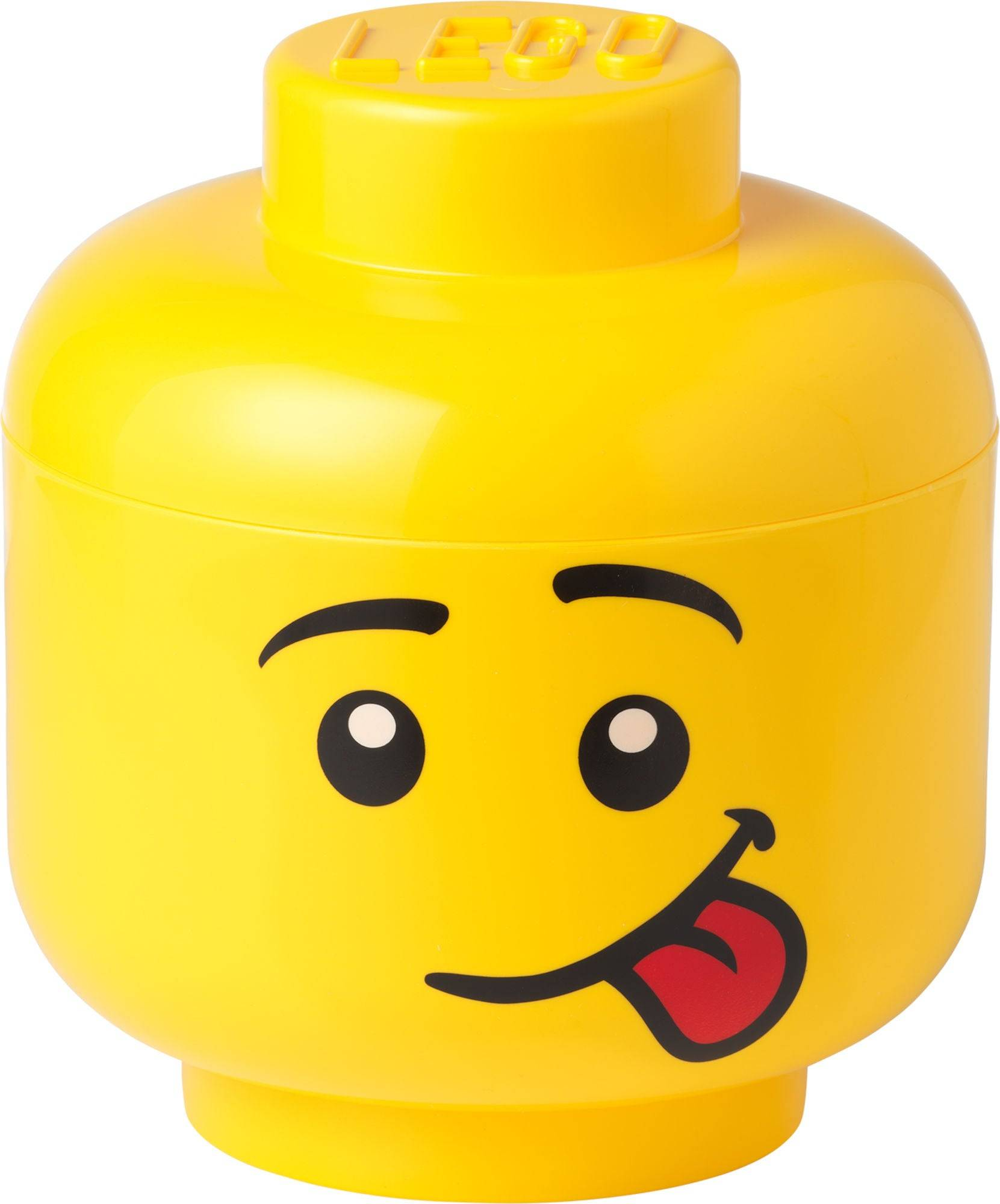 Lego Oppbevaring L Skrullete, Gul