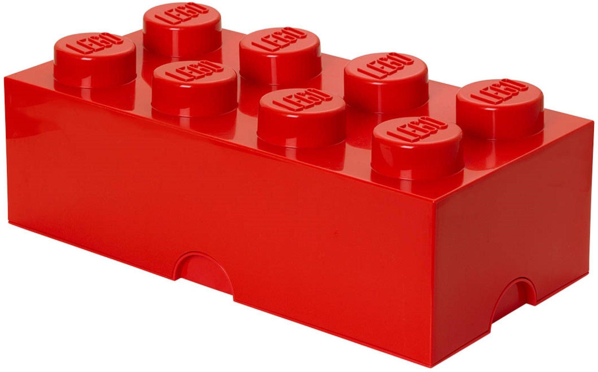 Lego Oppbevaring 8 Rød