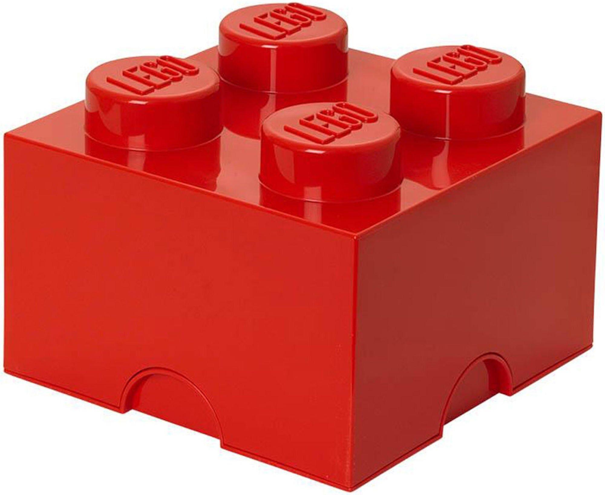 Lego Oppbevaring 4 Rød