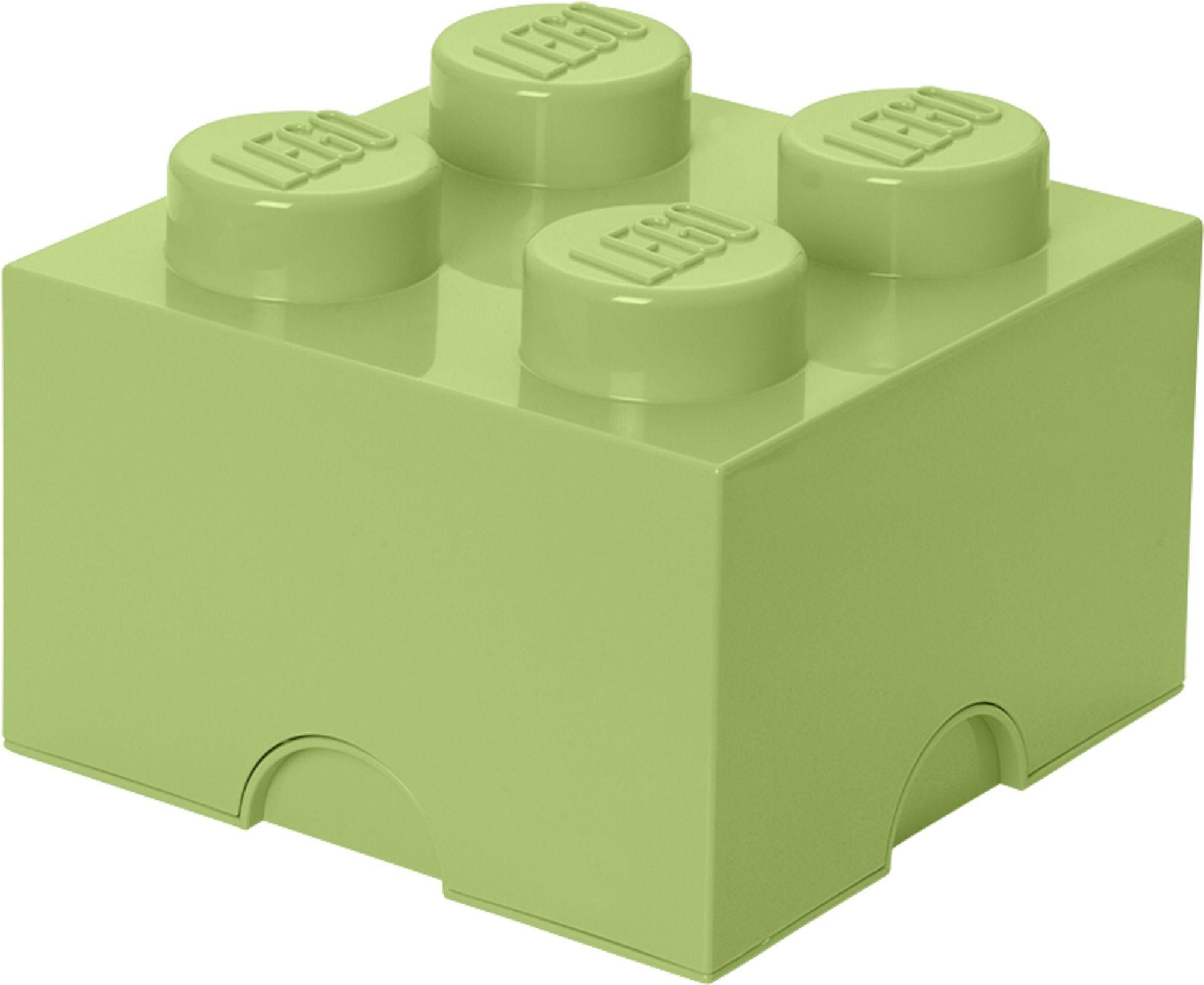 Lego Oppbevaring 4, Gulgrønn