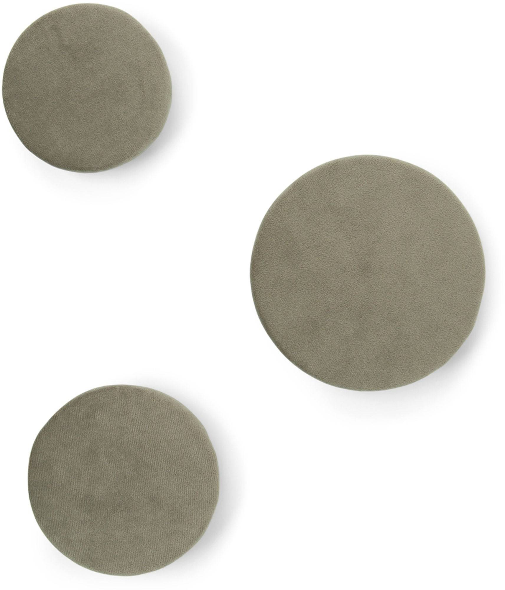 That's Mine Knagg Soft Hooks , Grey/Sandstone