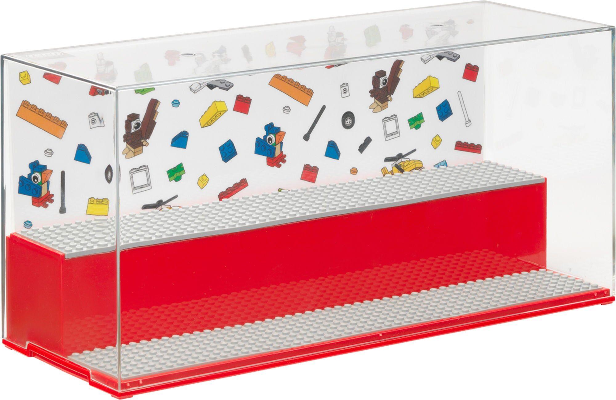 Lego Displaybox, Rød