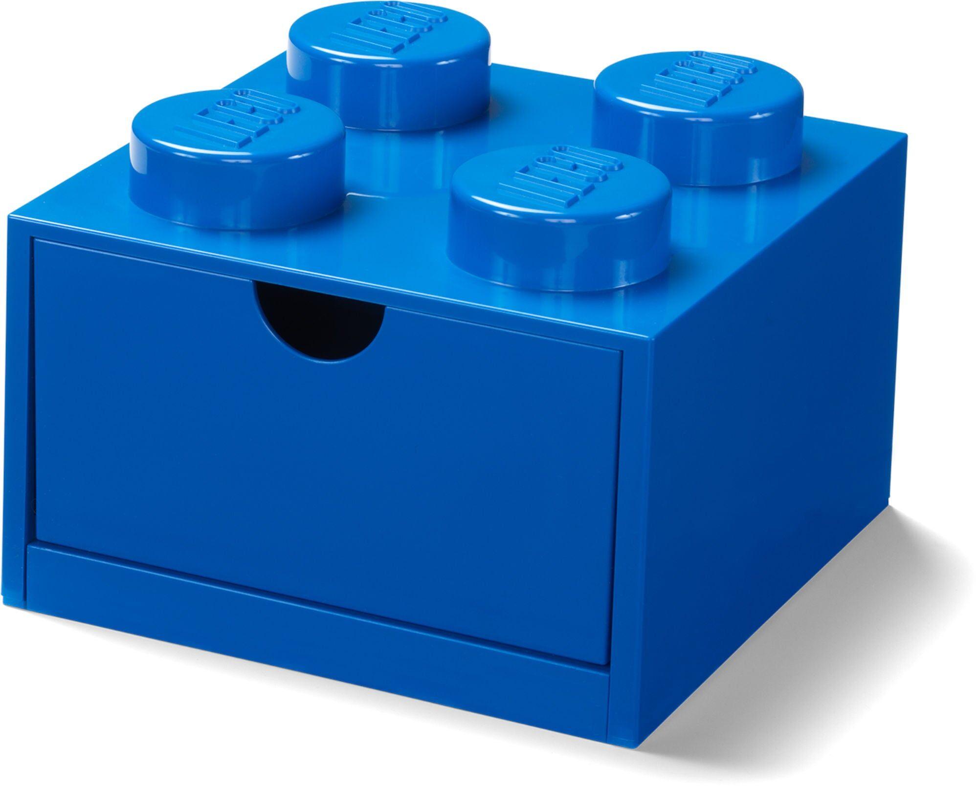 Lego Skrivebordsskuff 4, Blå