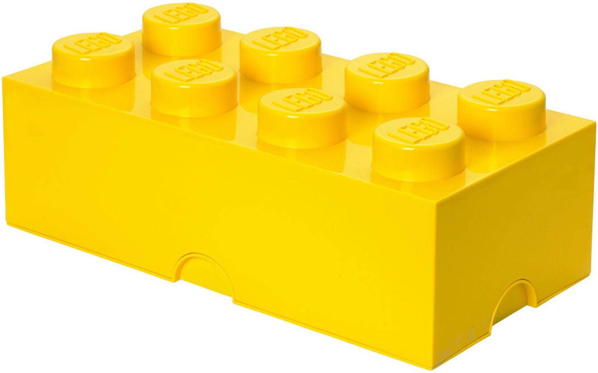 Lego Oppbevaring 8 Gul