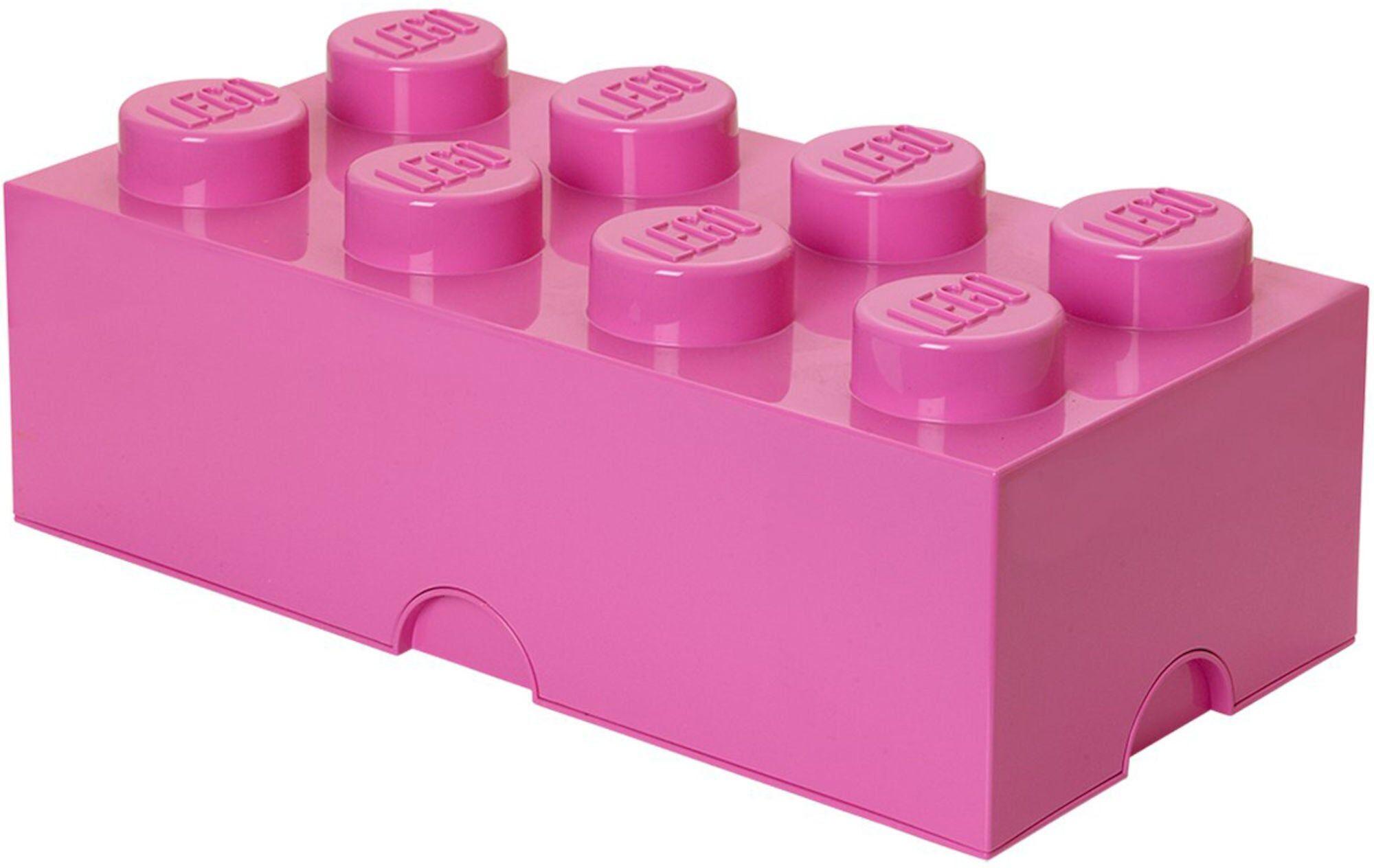 Lego Oppbevaring 8 Mellomrosa
