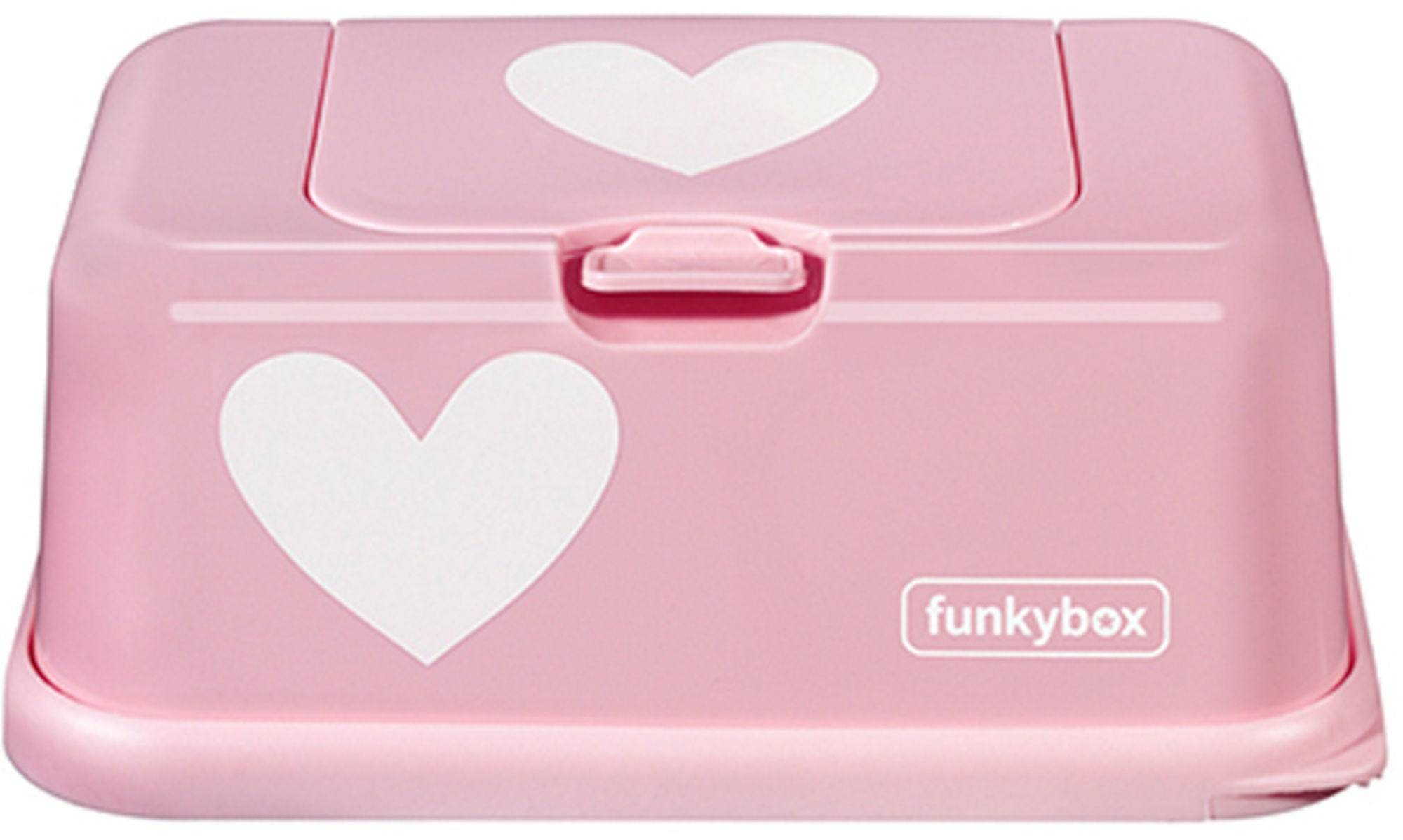Funkybox Oppbevaringsboks Våtserviett, Rosa