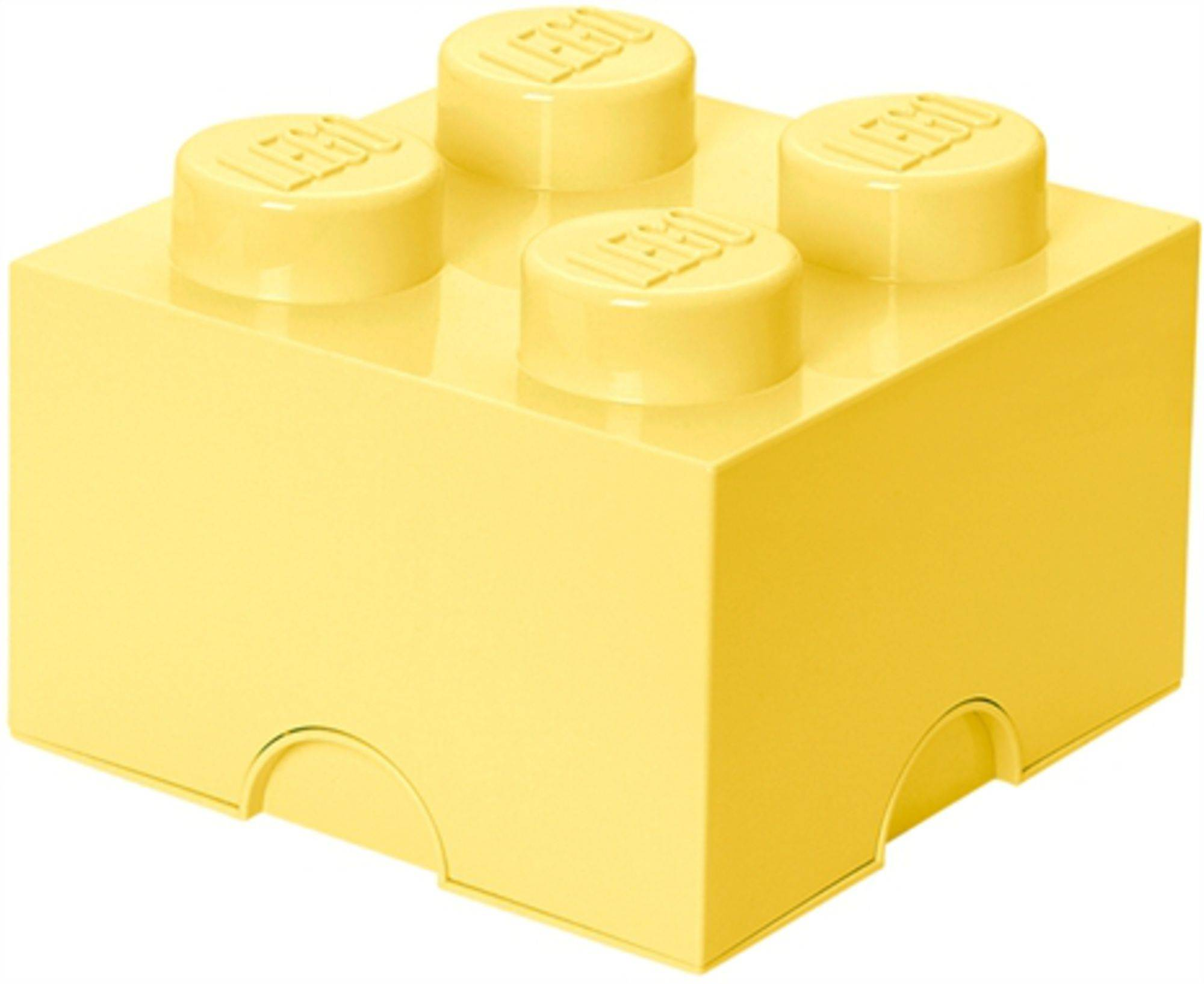 Lego Oppbevaring 4 Design Collection Cool Yellow