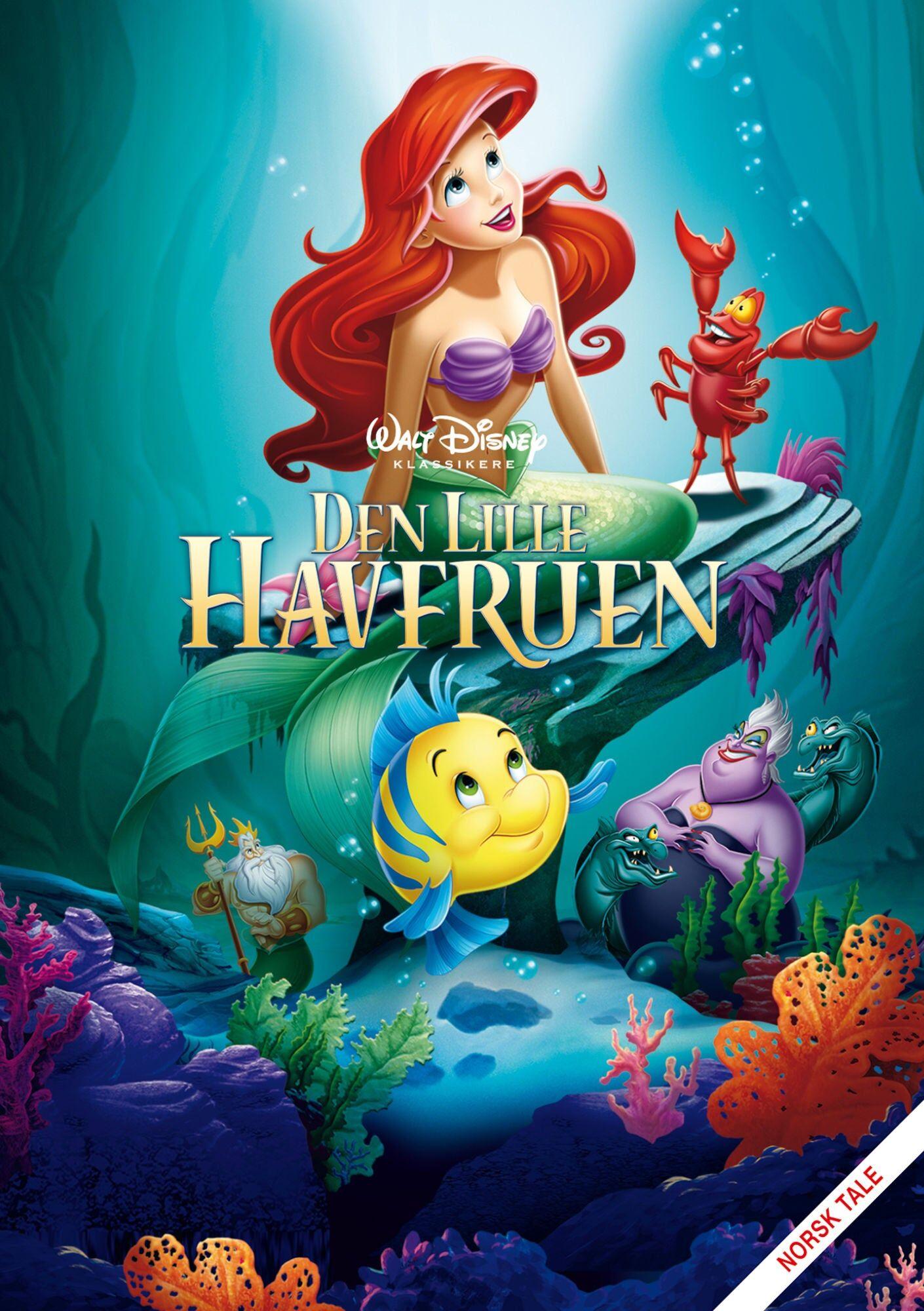 Disney Den Lille Havfruen DVD
