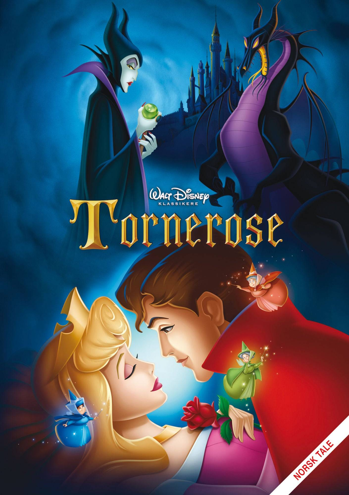 Disney Tornerose DVD