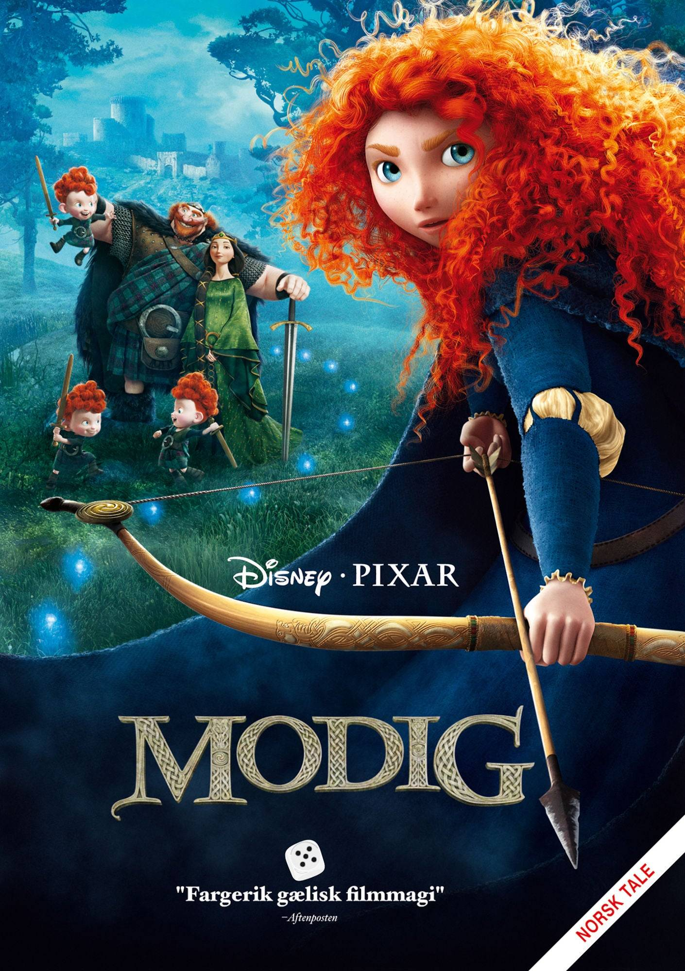Pixar Disney Pixar Modig DVD