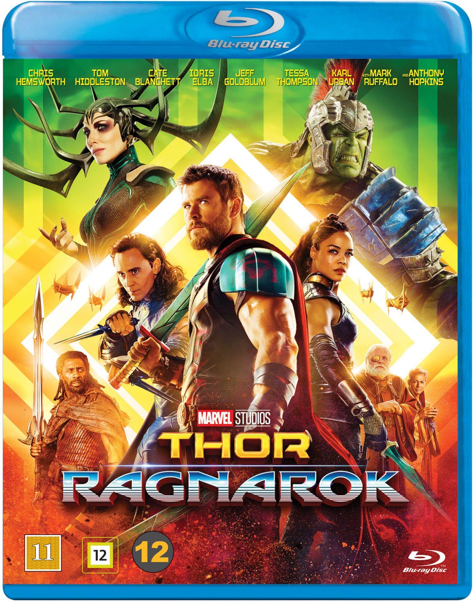 Marvel Thor Ragnarok Blu-Ray