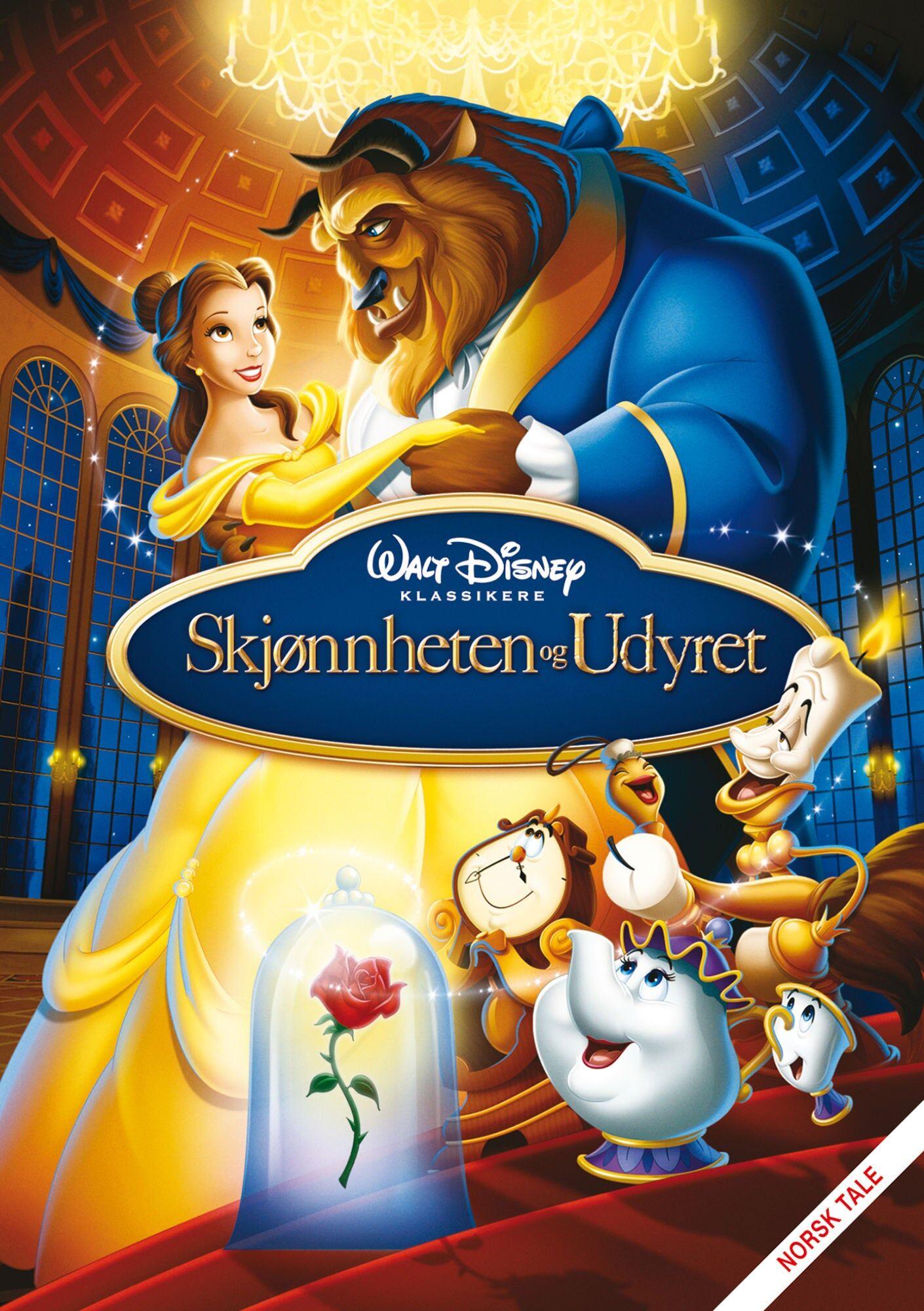 Disney Skjonnheten Og Udyret DVD