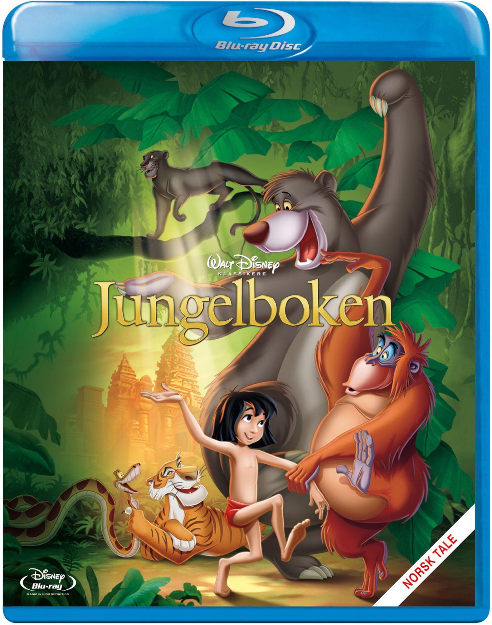Disney Jungelboken Blu-Ray