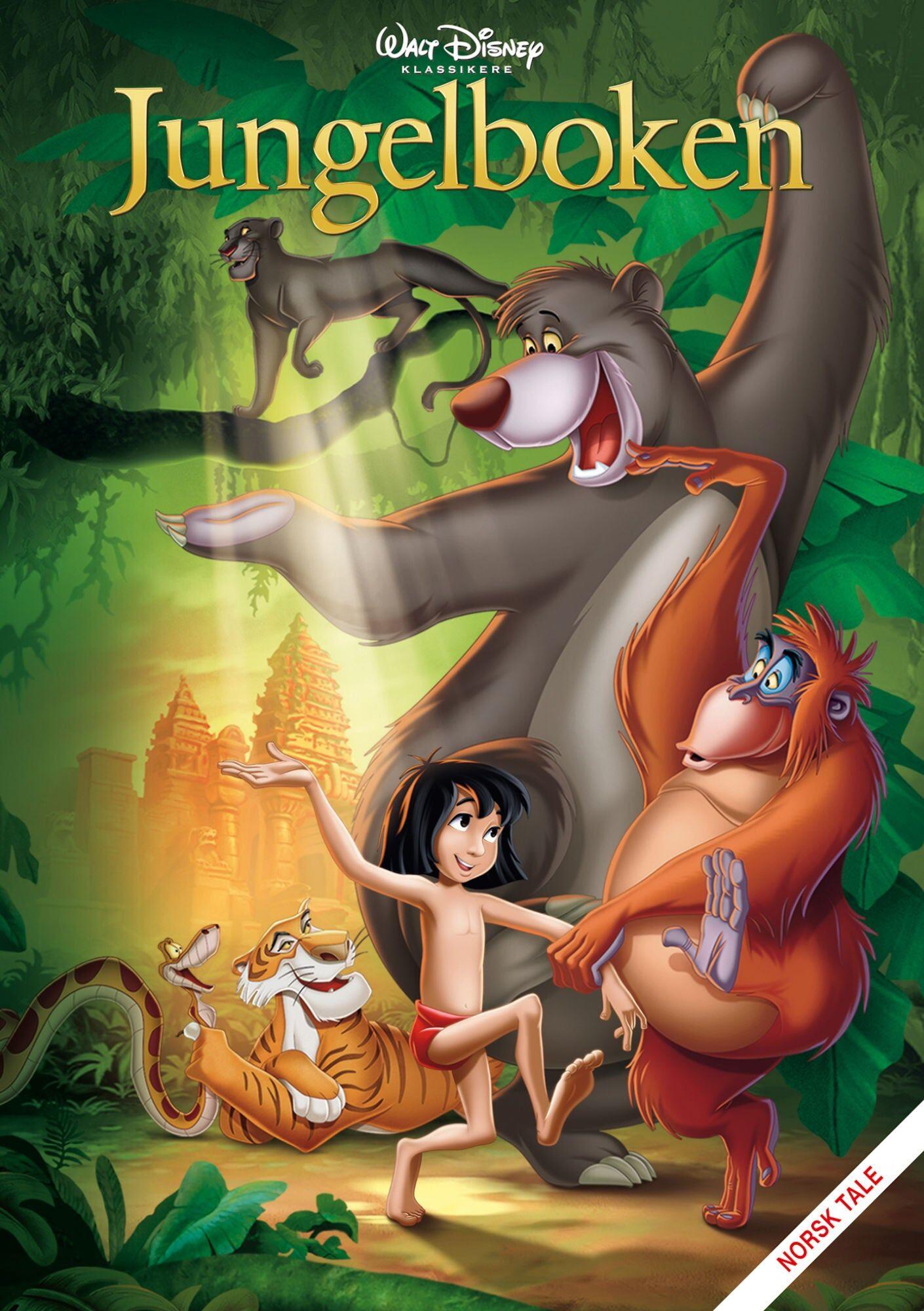 Disney Jungelboken DVD