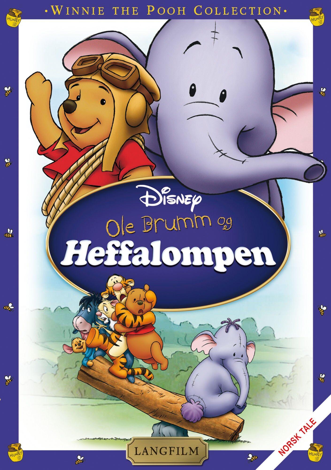 Disney Ole Brumm Og Heffalompen DVD