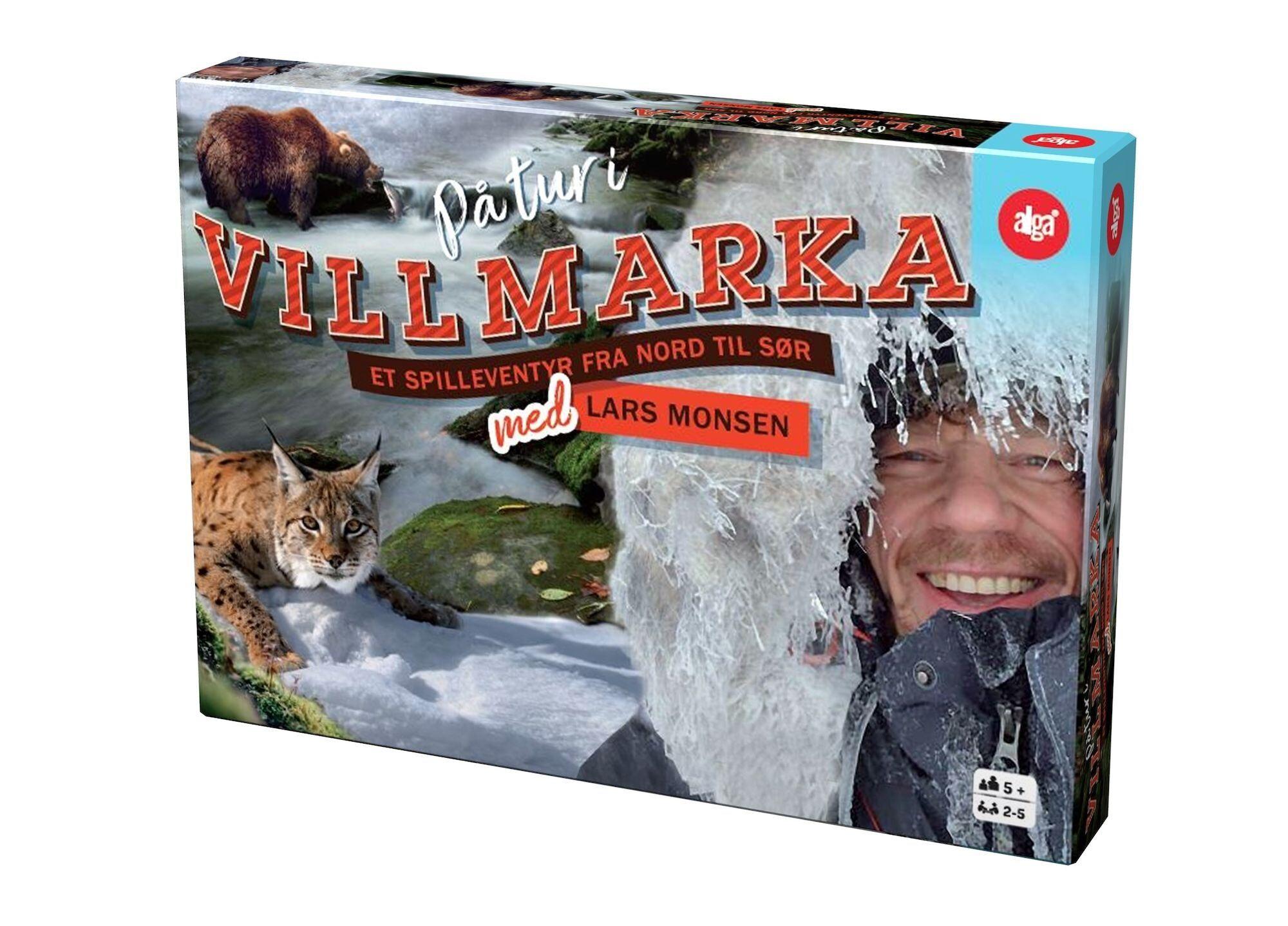 Alga På Tur i Villmarka Med Lars Monsen