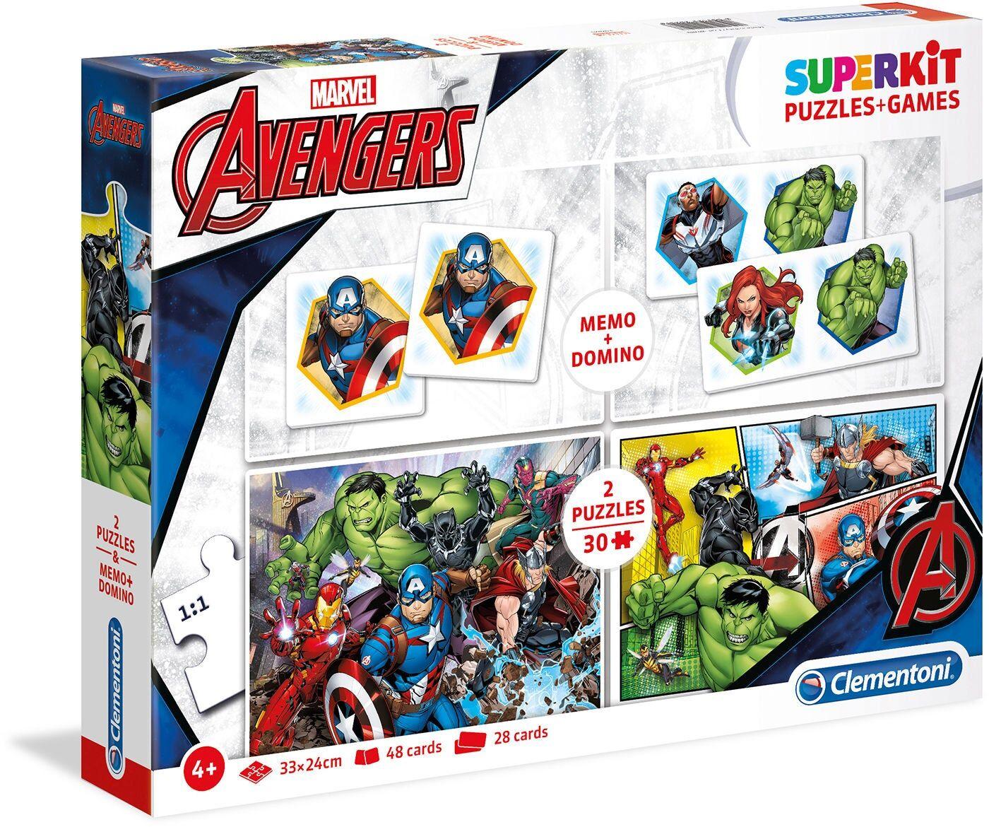 Marvel Avengers Spillesett 4-i-1