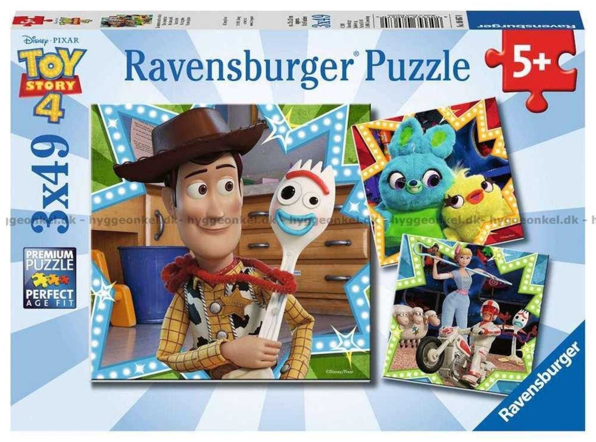 Ravensburger Disney Toy Story 4 3x49 Deler