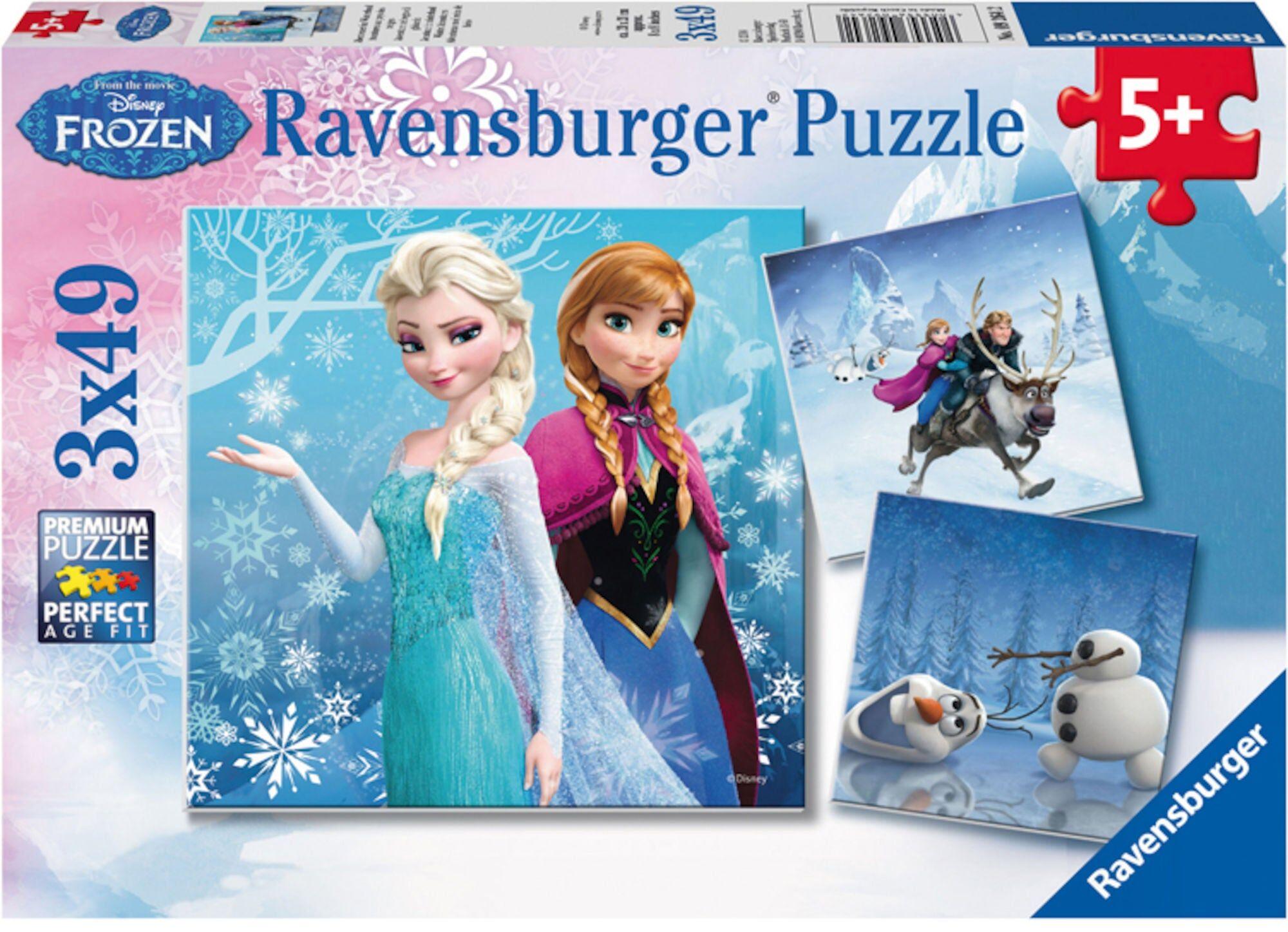 Disney Ravensburger Disney Frozen Puslespill Vintereventyr
