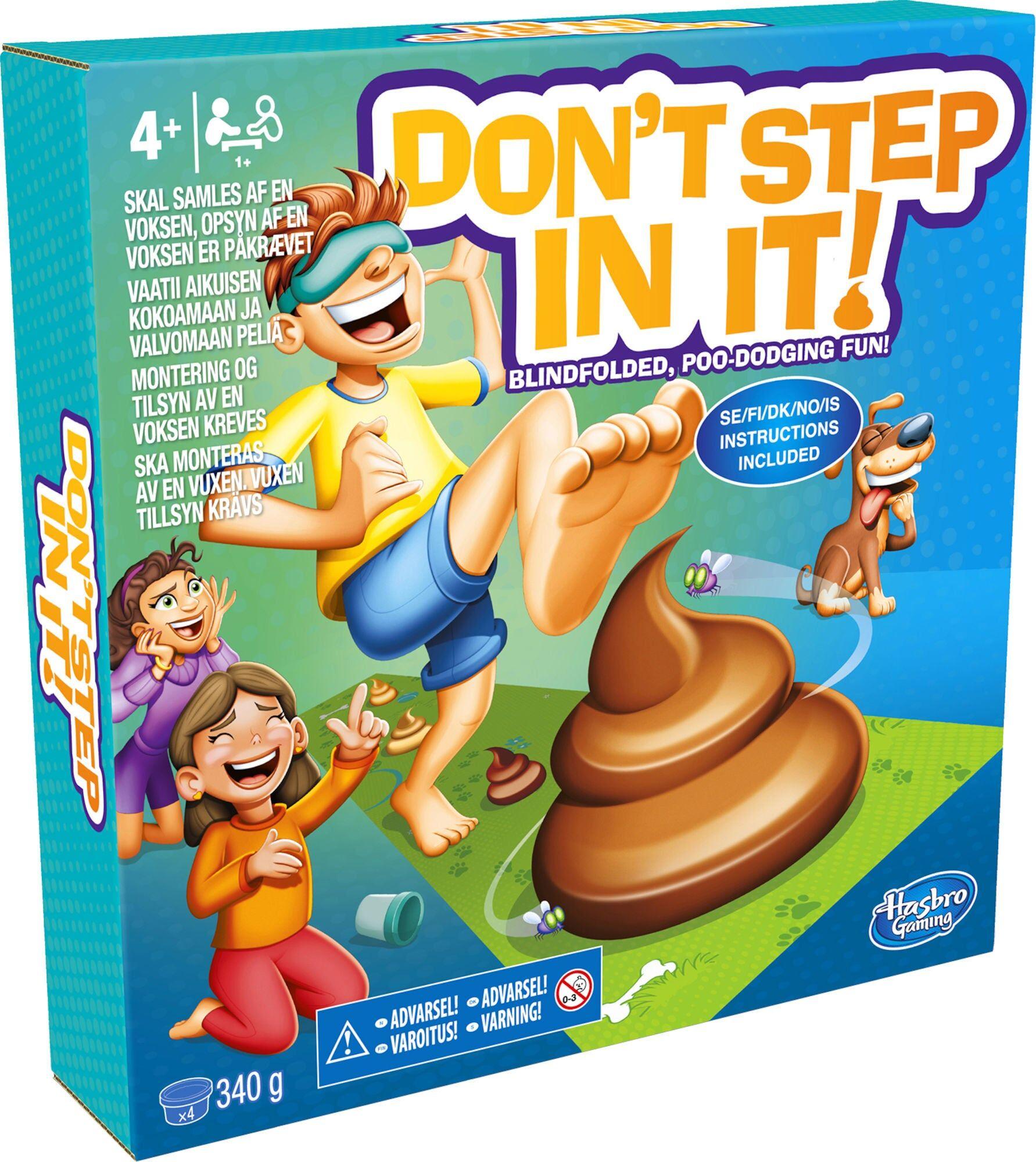 Hasbro Don't Step In It