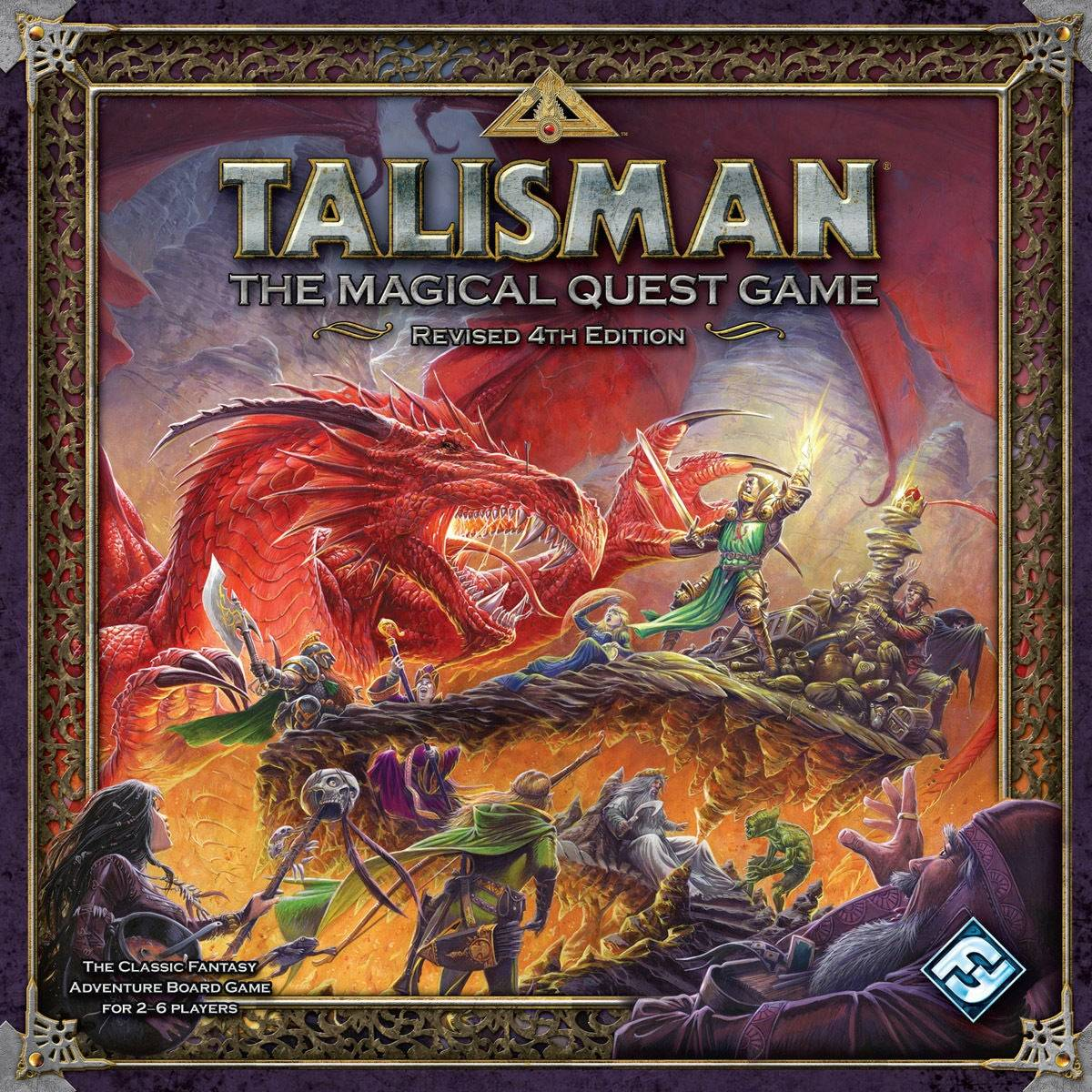 Brädspel.se Talisman 4th Edition Brettspill