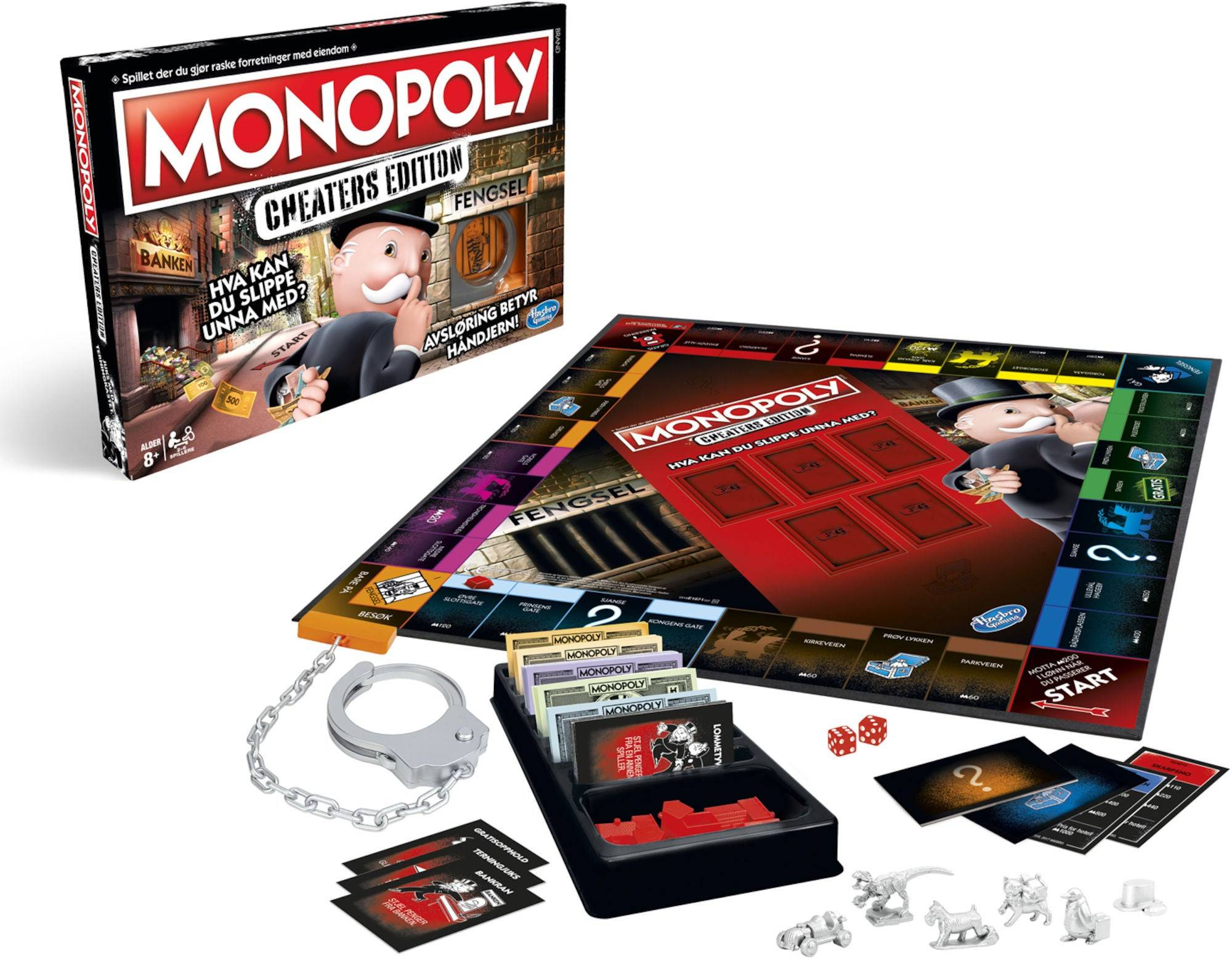 Hasbro Monopol Spill Cheaters Edition