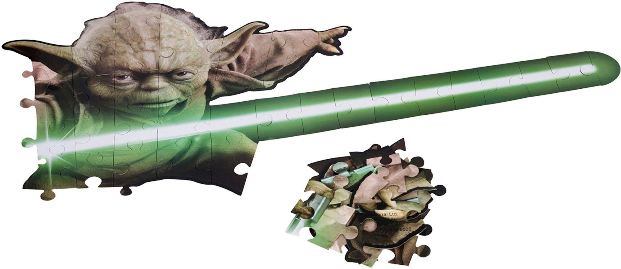 Star Wars Yoda Veggpuslespill