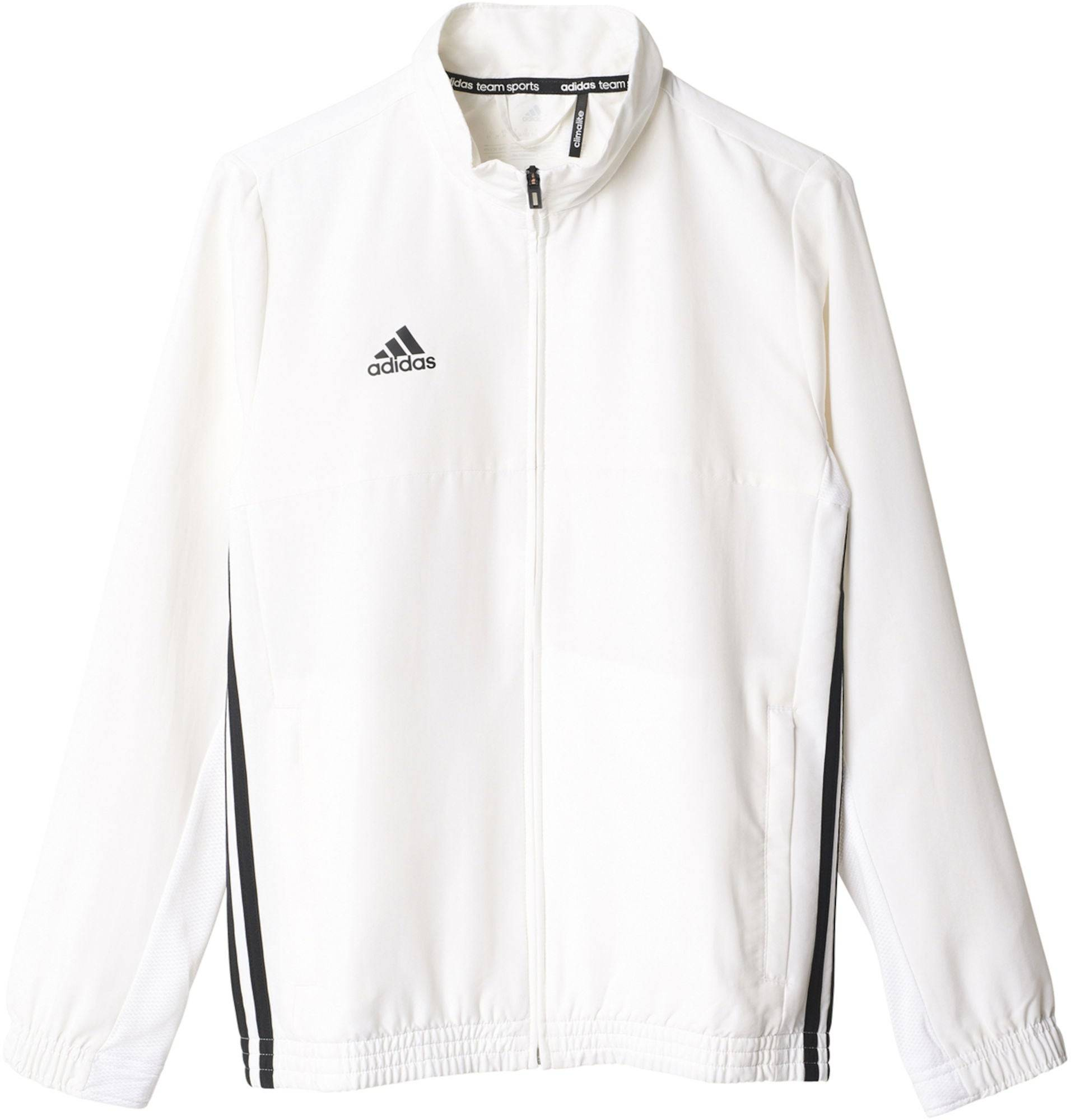 Adidas T16 Team Jacket Y Treningsjakke, White 152