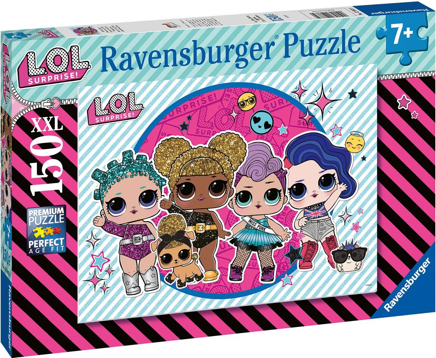 Ravensburger Puslespill L.O.L. Surprise! Ready For The Party 150 Brikker
