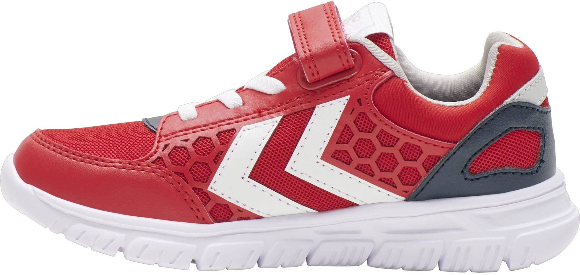 Hummel Crosslite Jr Sneaker, High Risk Red, 33