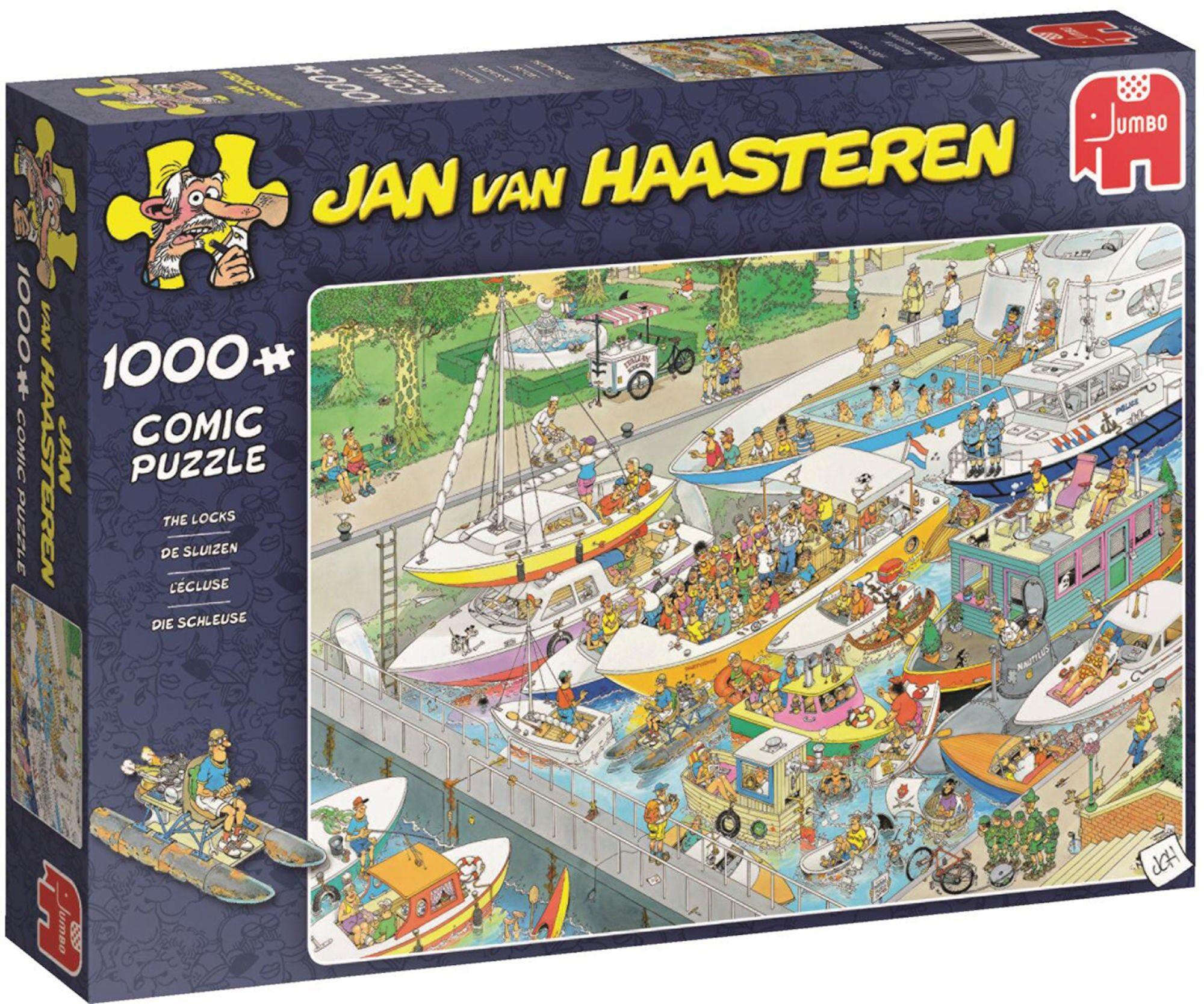 Jumbo Puslespill Jan van Haasteren The Locks 1000
