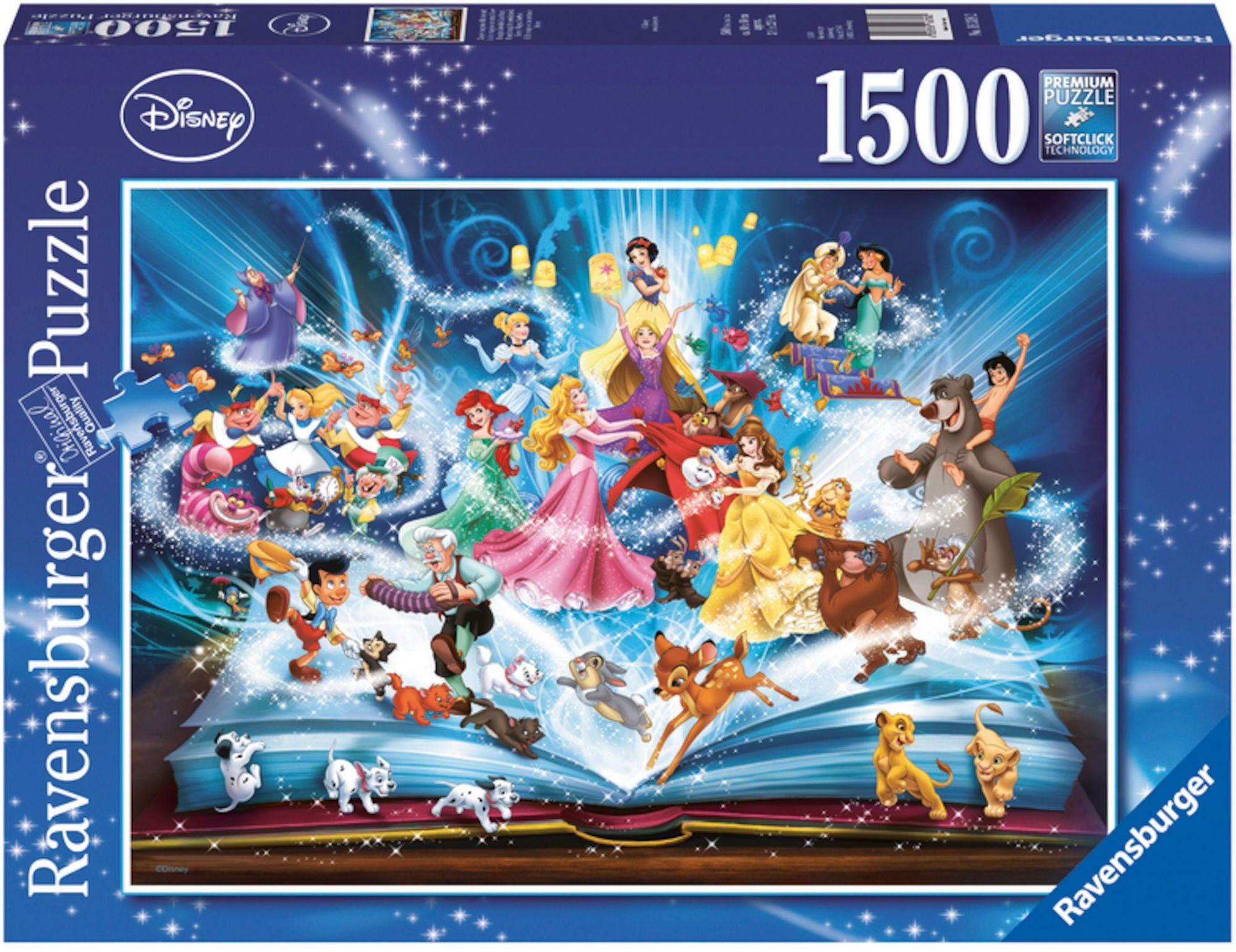 Disney Ravensburger Disney Puslespill 1500 Biter