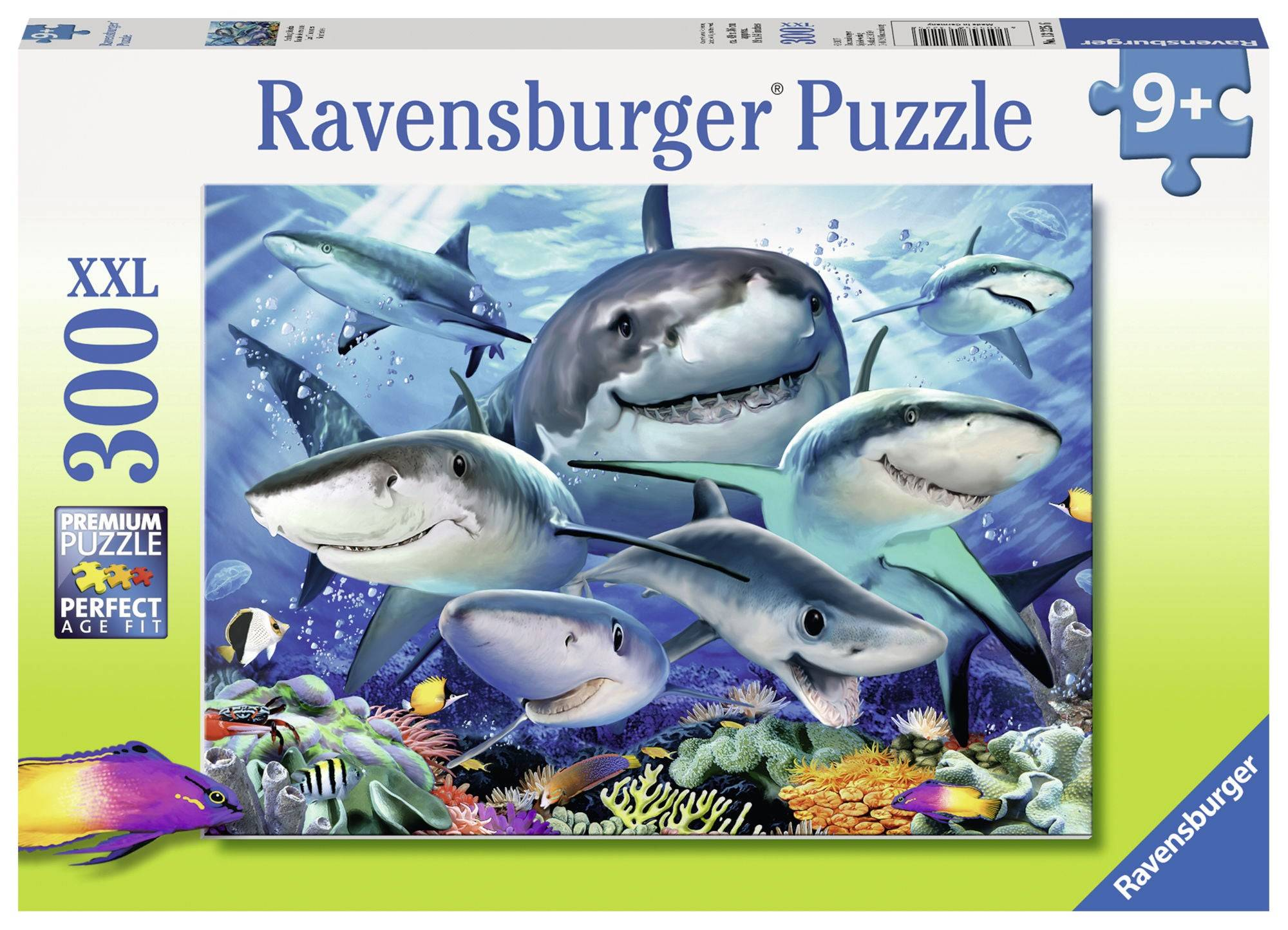 Ravensburger Puslespill Glade Haier 300 Brikker