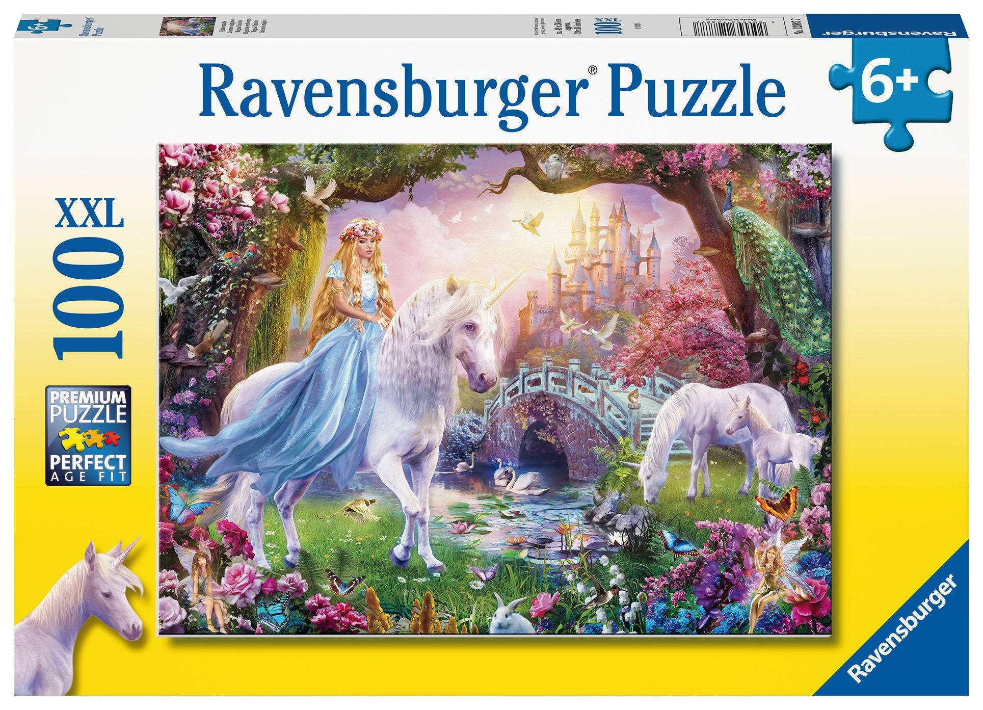 Ravensburger Puslespill Magisk Enhjørning 100 Brikker