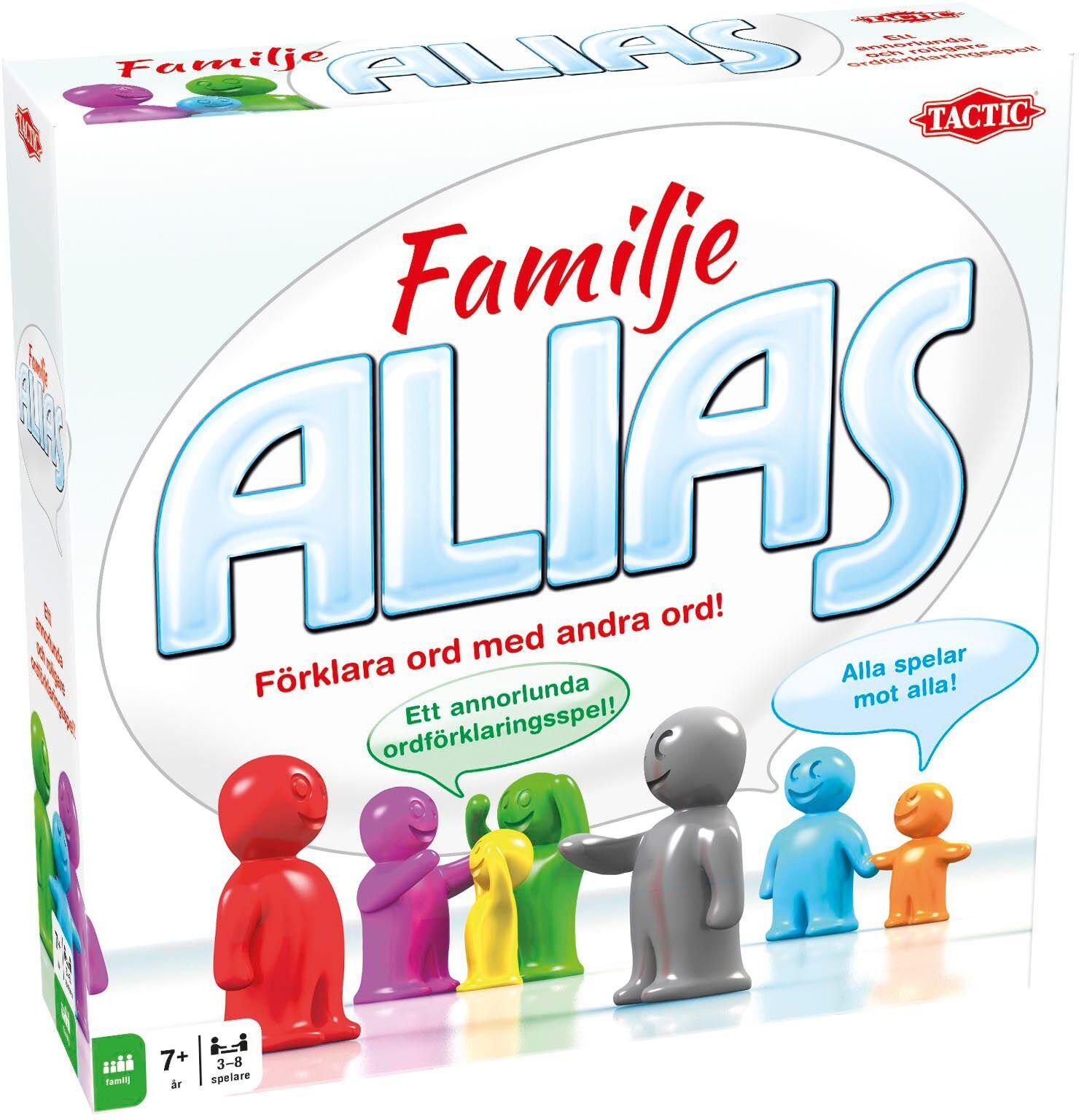 Tactic Spill Alias Familie