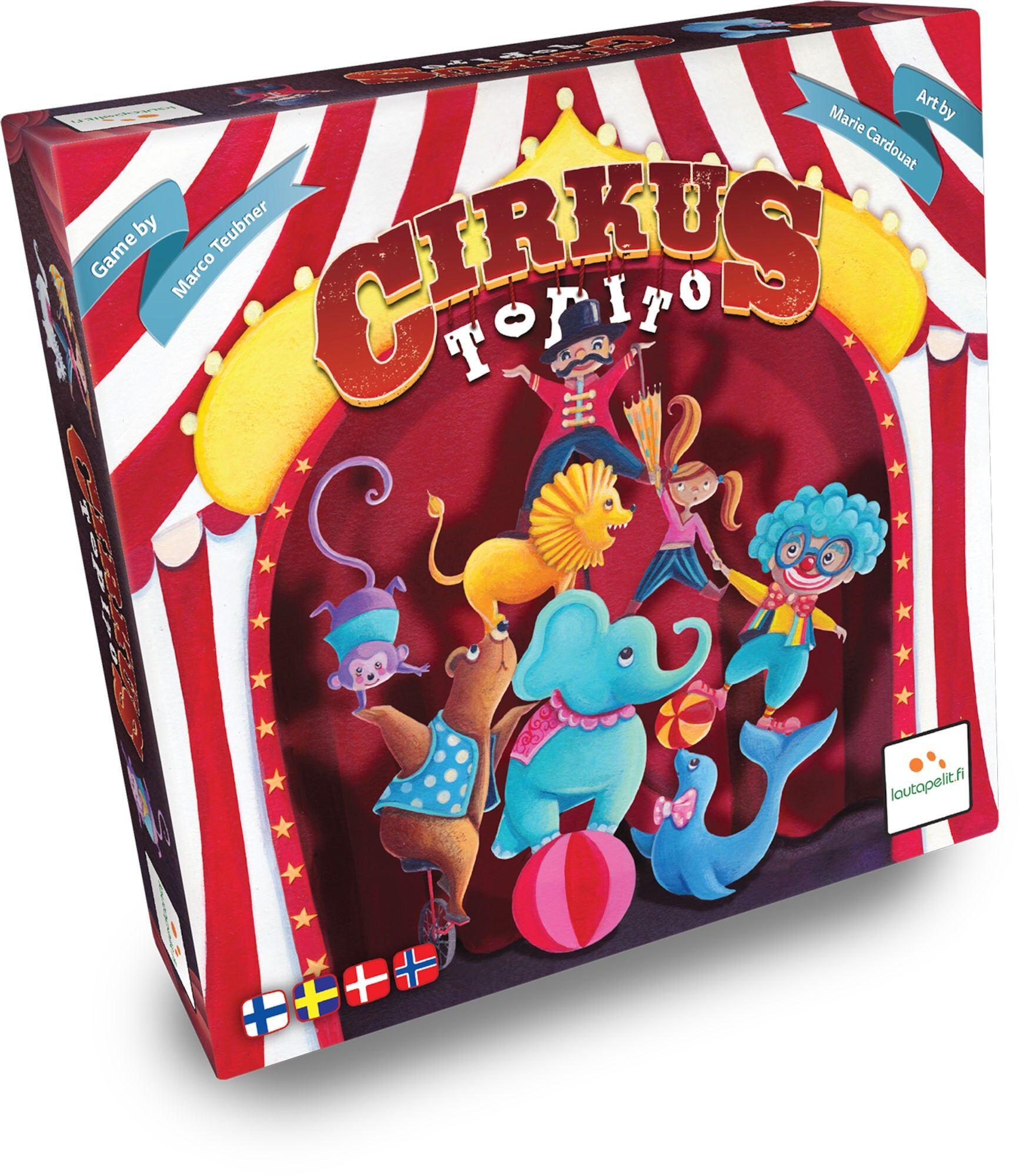 Brädspel.se Cirkus Topito Barnespill