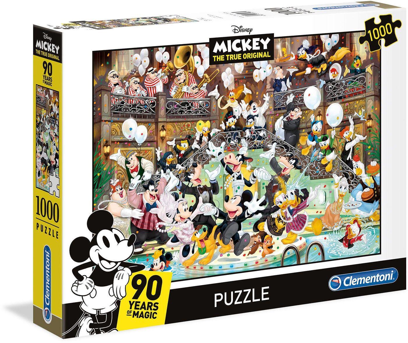Disney Mikke Mus Puslespill 1000 Brikker