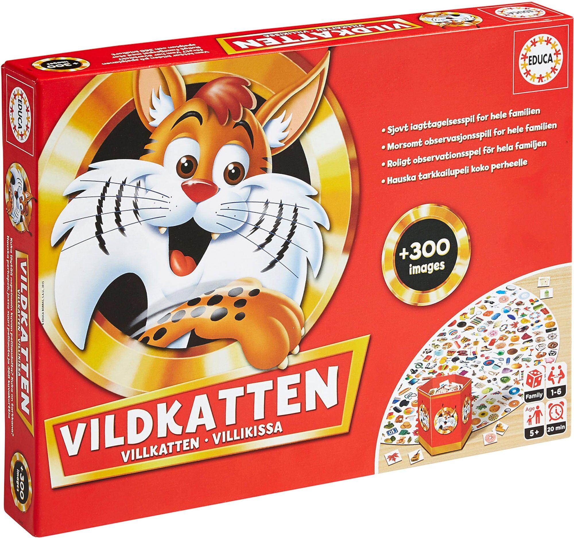 Educa Villkatten Spill Classic 300