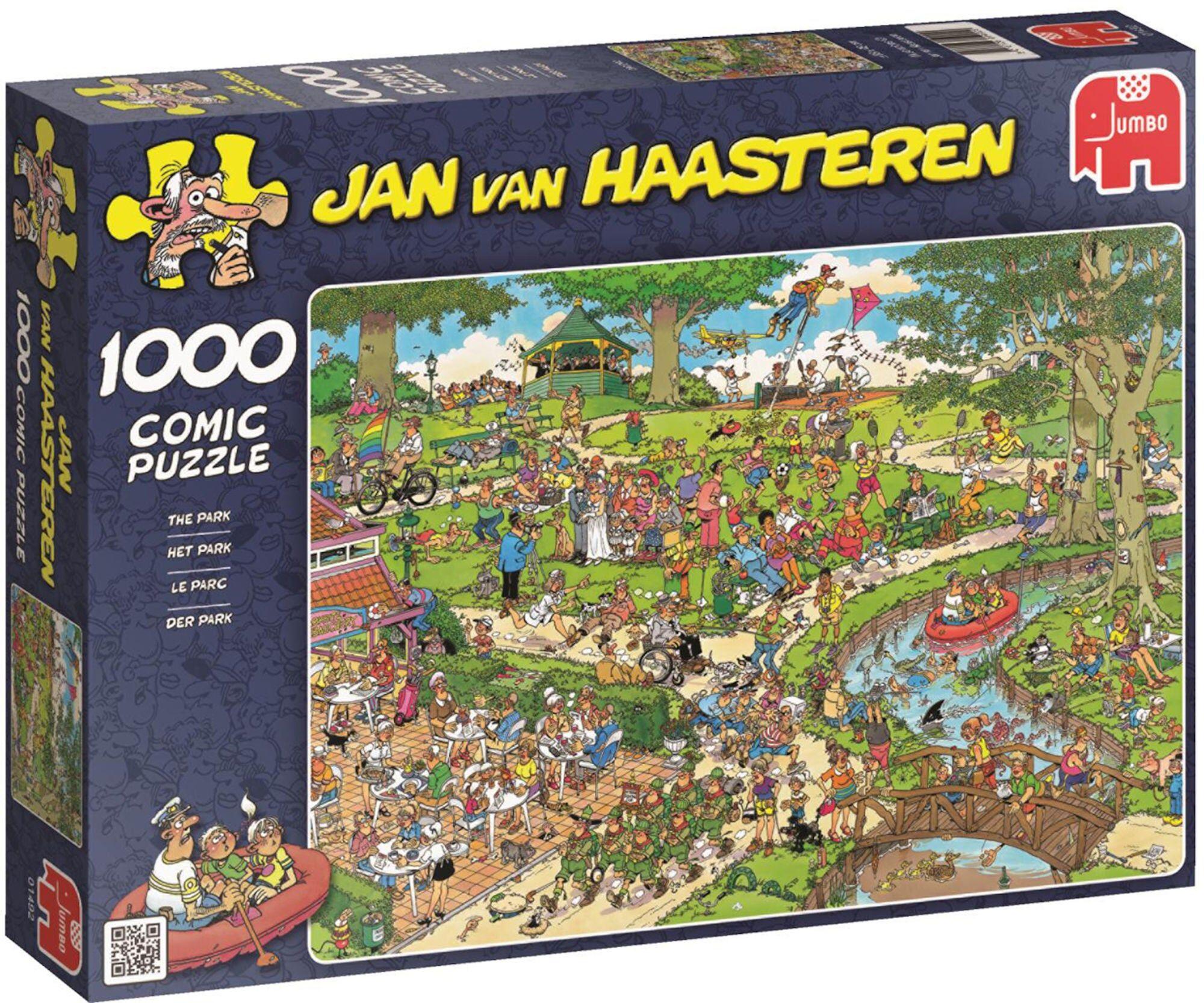 Jumbo Puslespill Jan van Haasteren The Park 1000