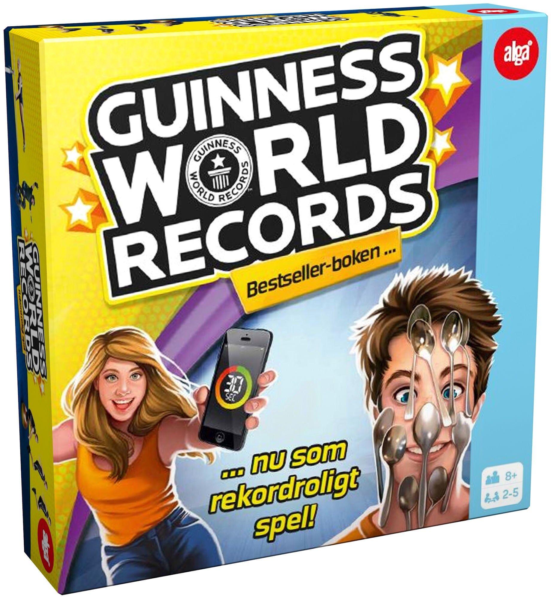 Alga Spill Guinness Record