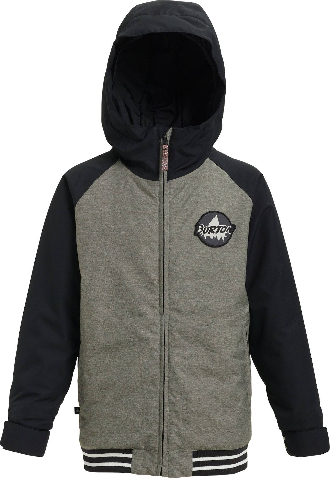 Burton Boys Gameday Jakke, Bog Heather/True Black M